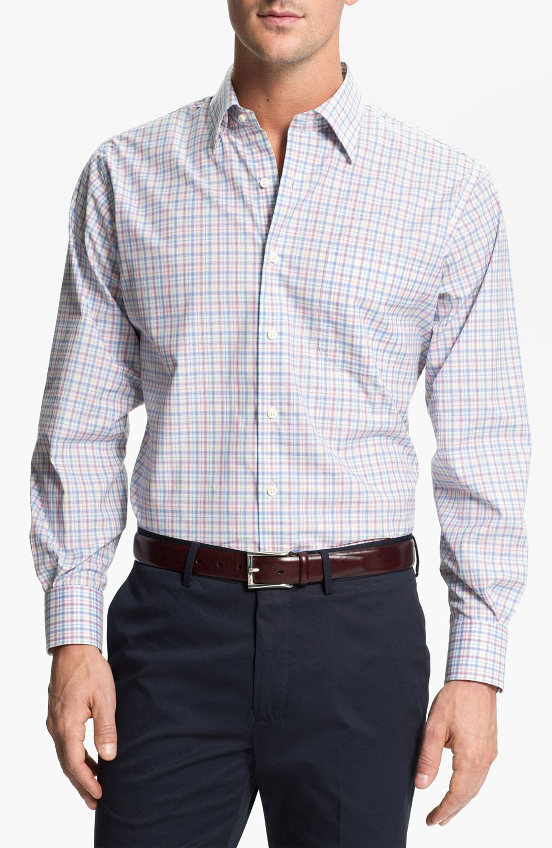 Main Image - Peter Millar Regular Sport Shirt
