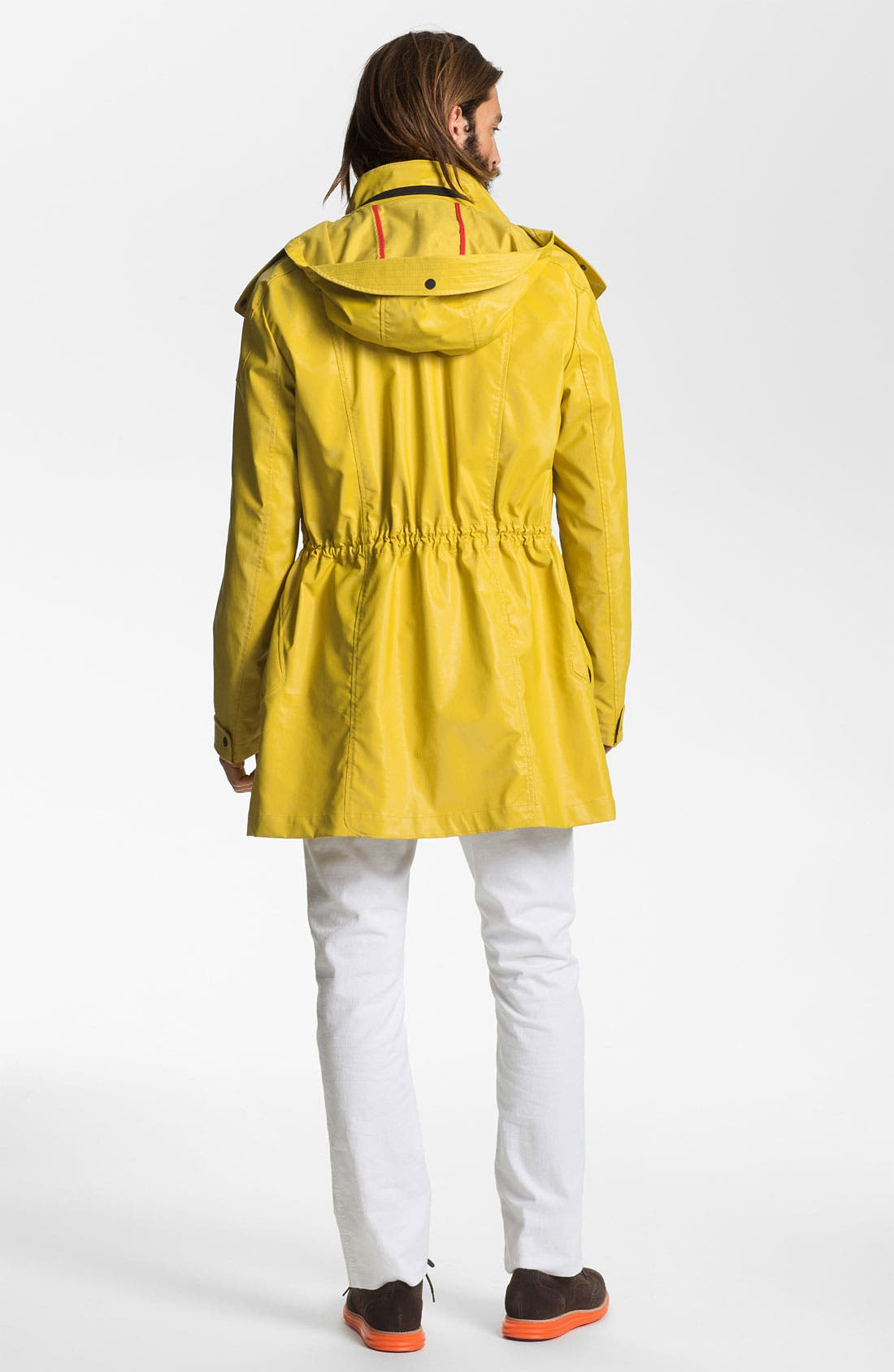 Alternate Image 5  - HUGO 'Marinus' Rain Coat (Online Exclusive)