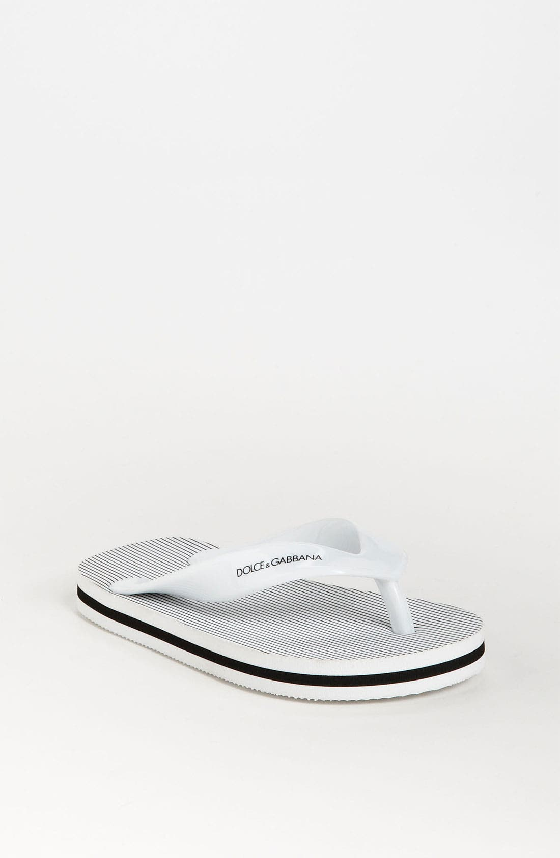 Alternate Image 1 Selected - Dolce&Gabbana Flip Flop (Toddler, Little Kid & Big Kid)