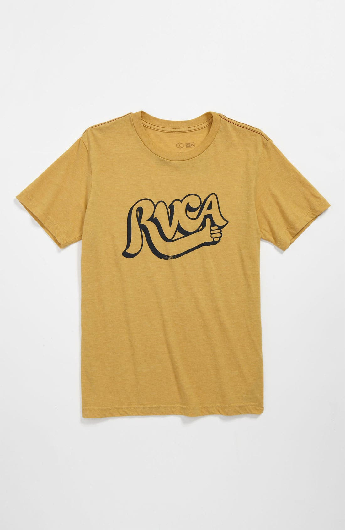 Alternate Image 1 Selected - RVCA 'Good Job' Graphic T-Shirt (Big Boys)