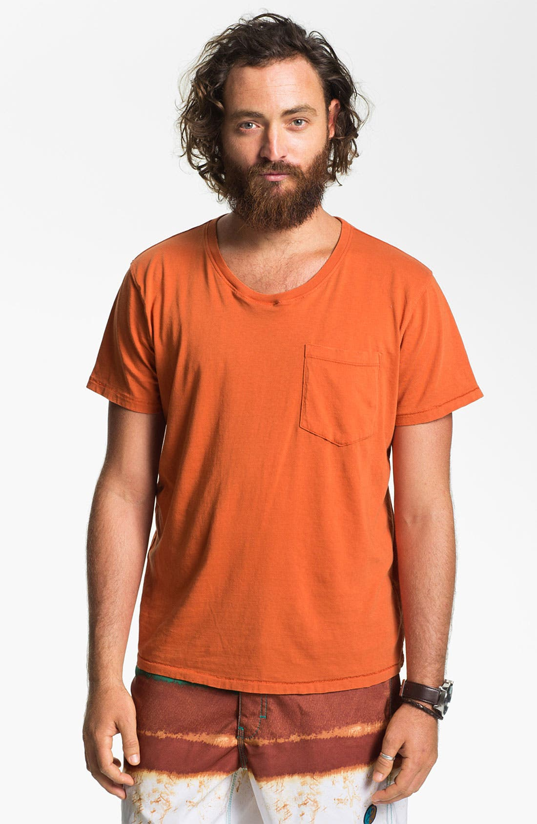 Alternate Image 1 Selected - Nudie Pocket Crewneck T-Shirt