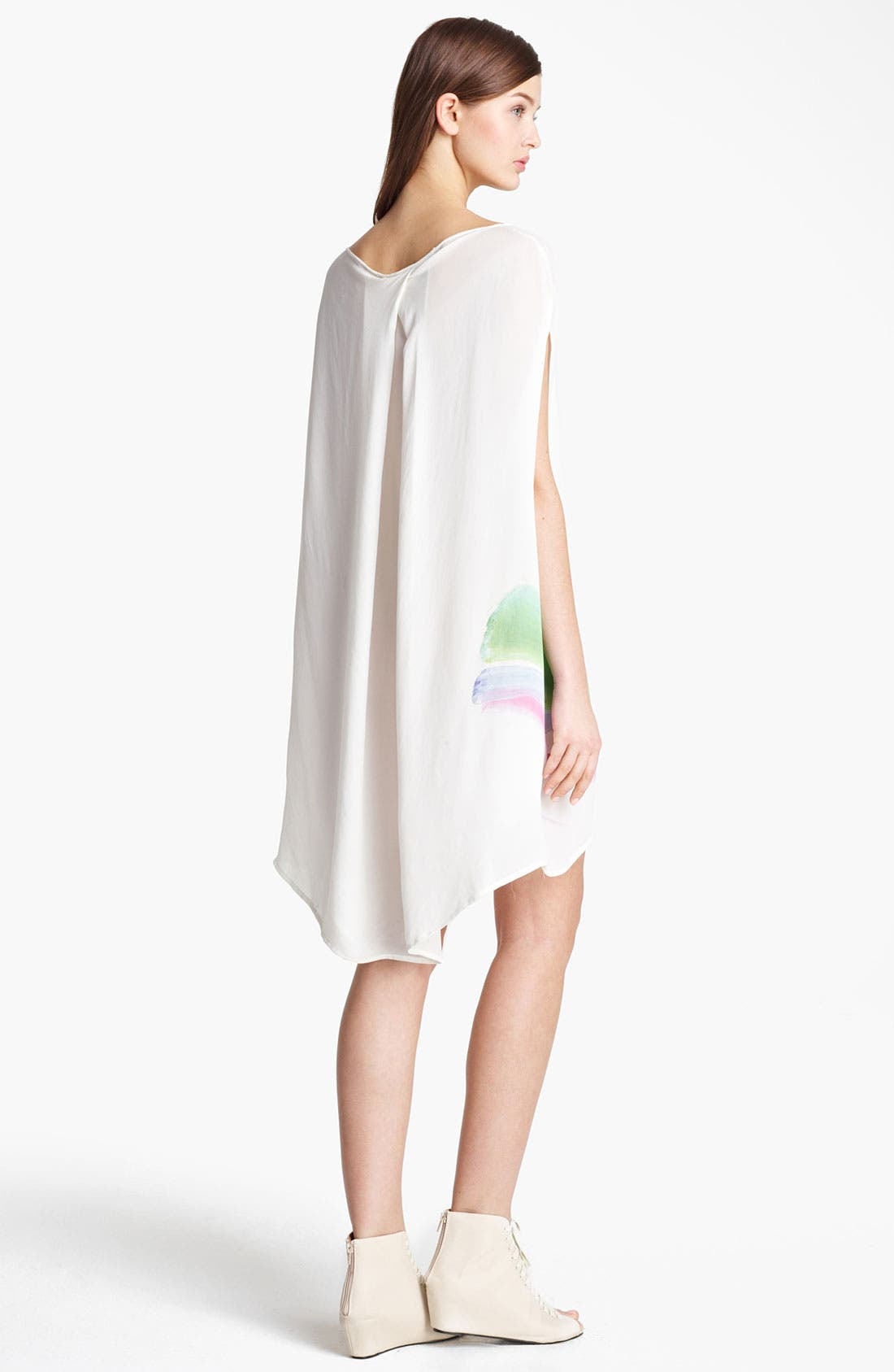 Alternate Image 2  - Band of Outsiders 'War Paint' Double Georgette Dress