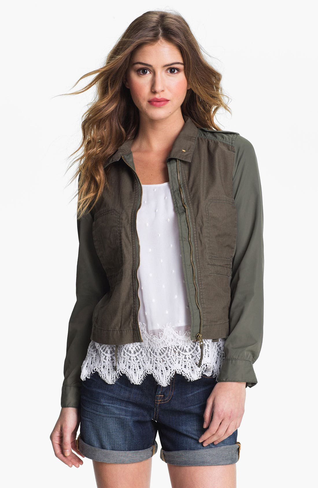 Main Image - Lucky Brand 'Griffith' Military Jacket (Online Exclusive)