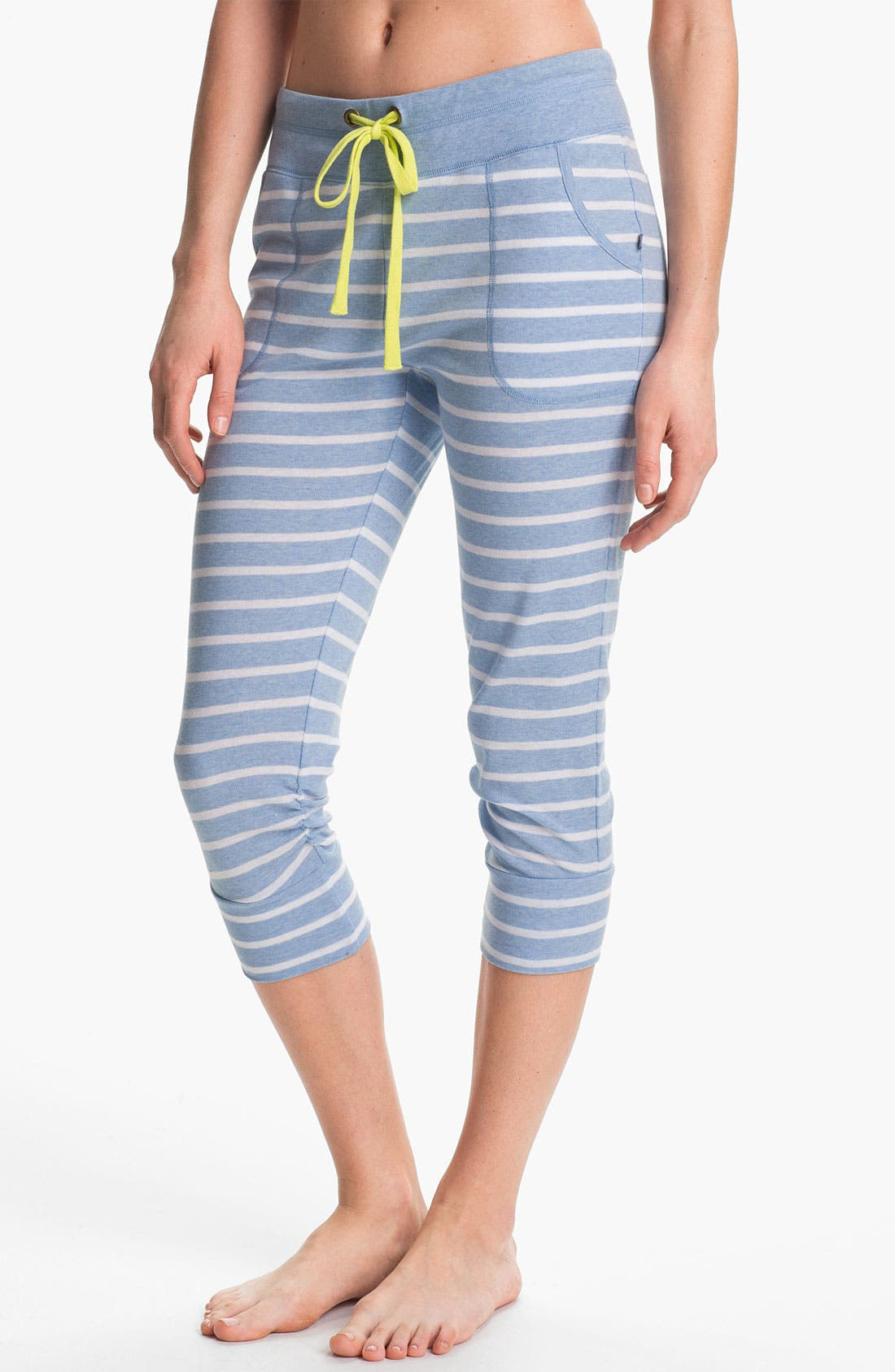 Main Image - Jane & Bleecker New York Crop Rib Lounge Pants
