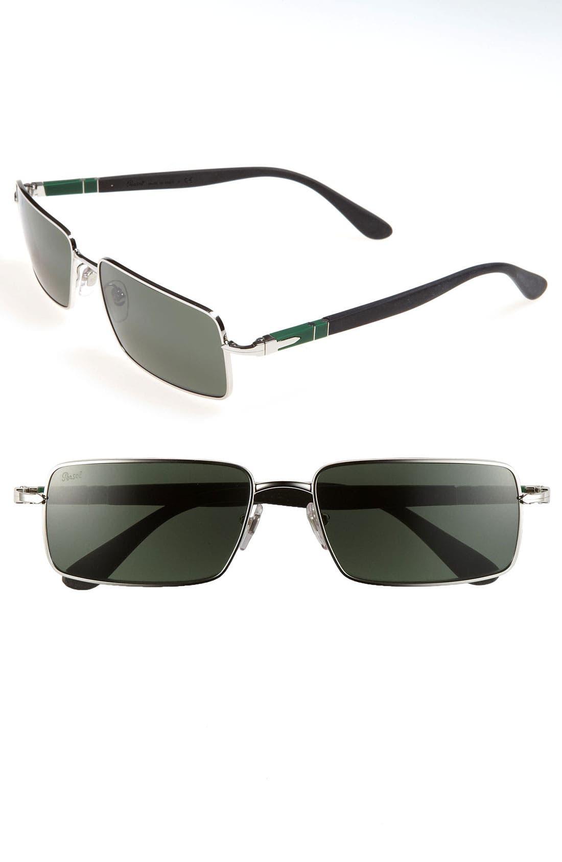 Main Image - Persol 'Steelman' Sunglasses