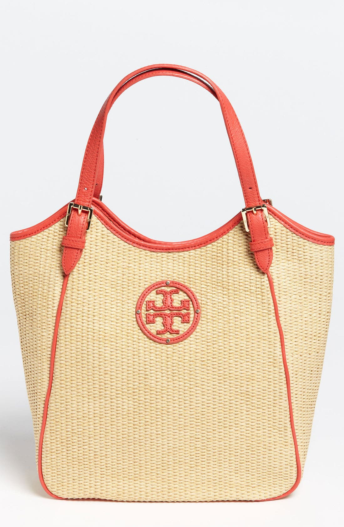 Main Image - Tory Burch 'Small' Slouchy Woven Tote
