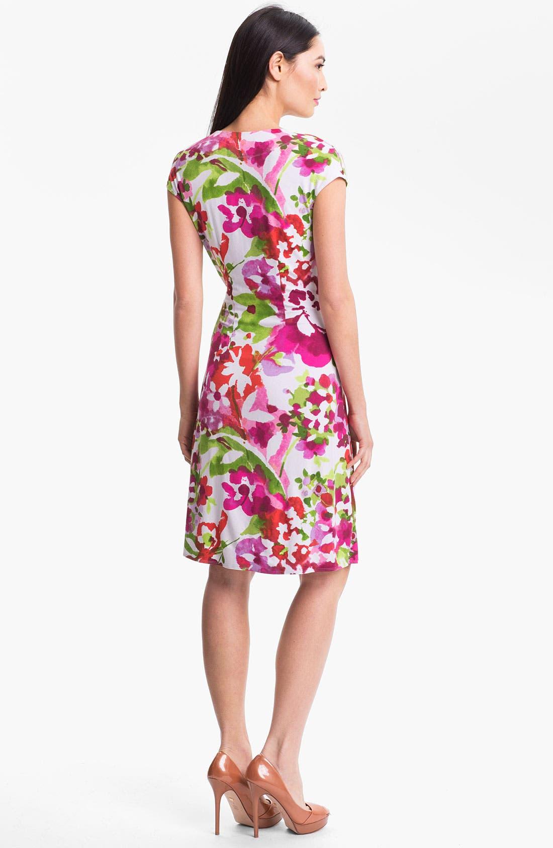Alternate Image 2  - Tommy Bahama 'Madcap A Floral' Dress