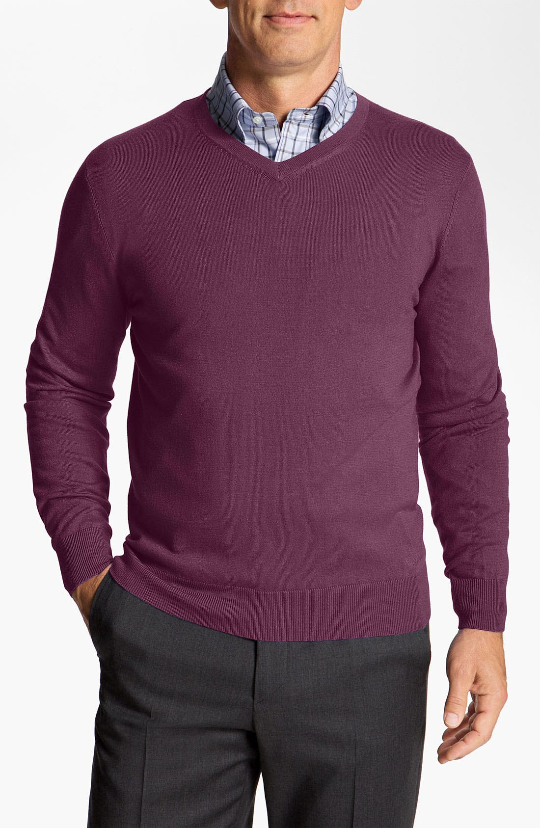Alternate Image 1 Selected - Façonnable 'Sicoca' Classique Fit Silk Blend Sweater