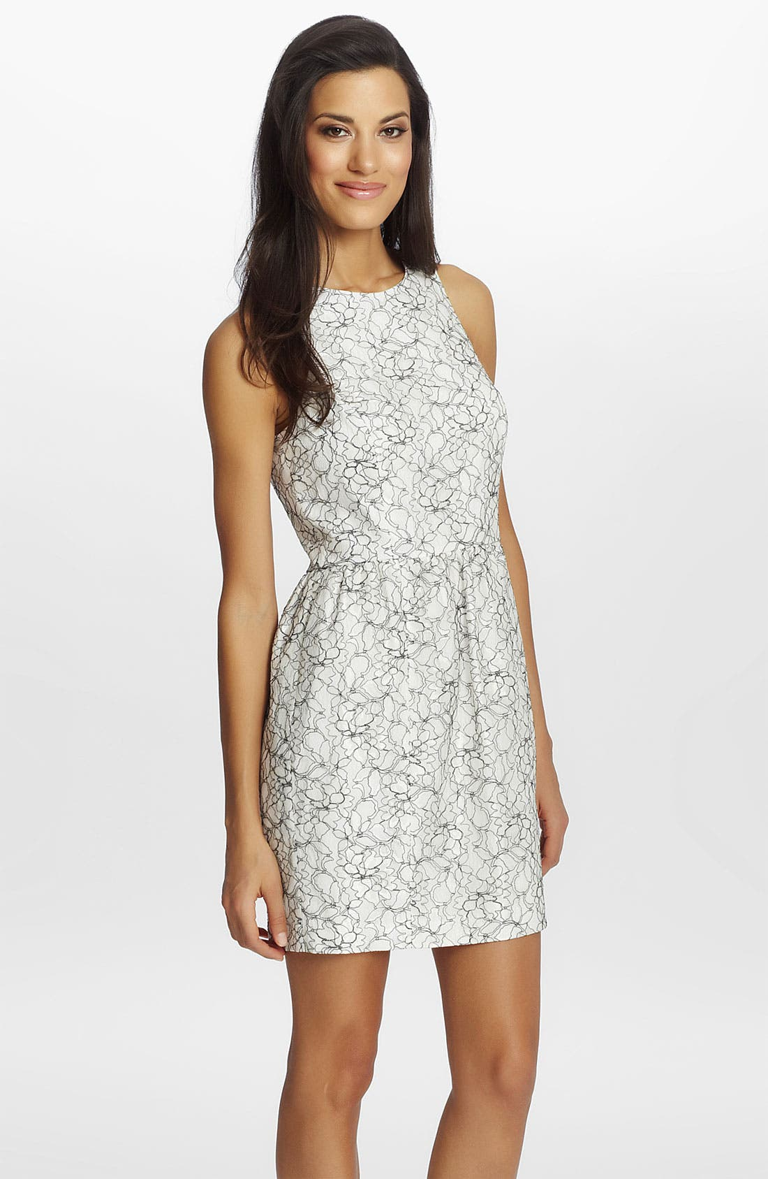 Alternate Image 1 Selected - Cynthia Steffe 'Brooklyn' Lace Sheath Dress