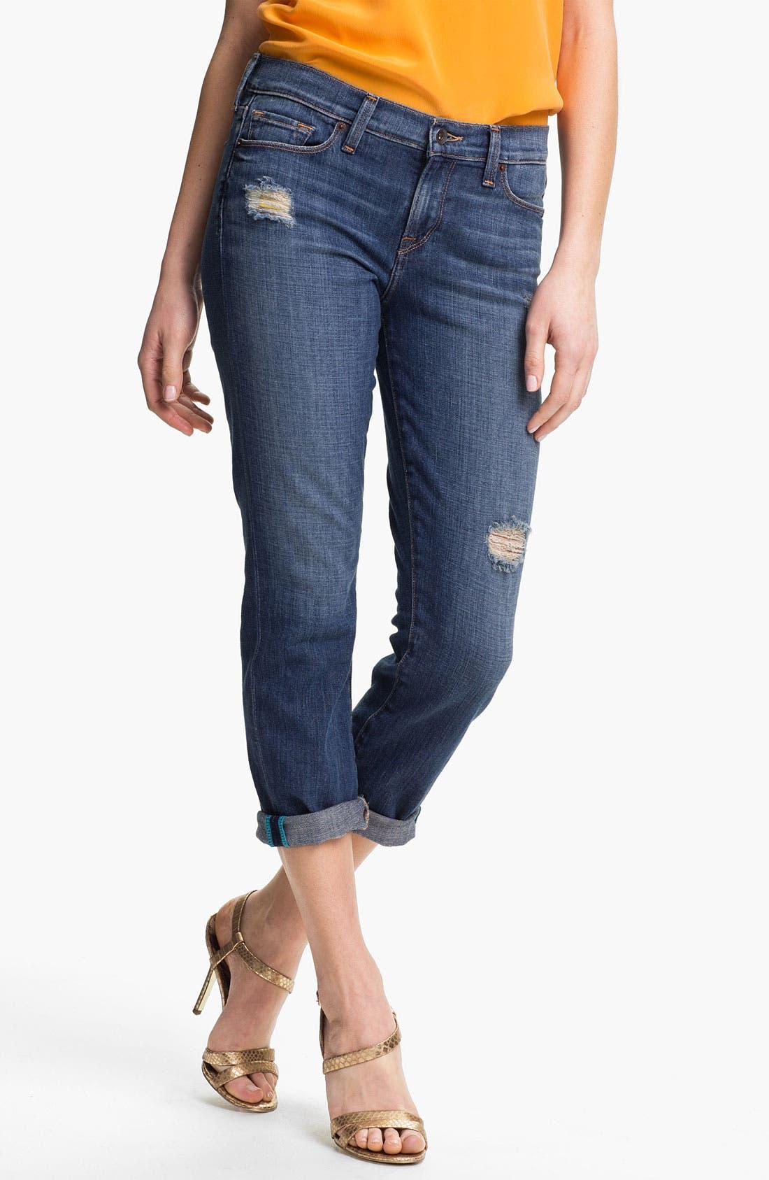 Main Image - Lucky Brand Boyfriend Jeans (Chloe)
