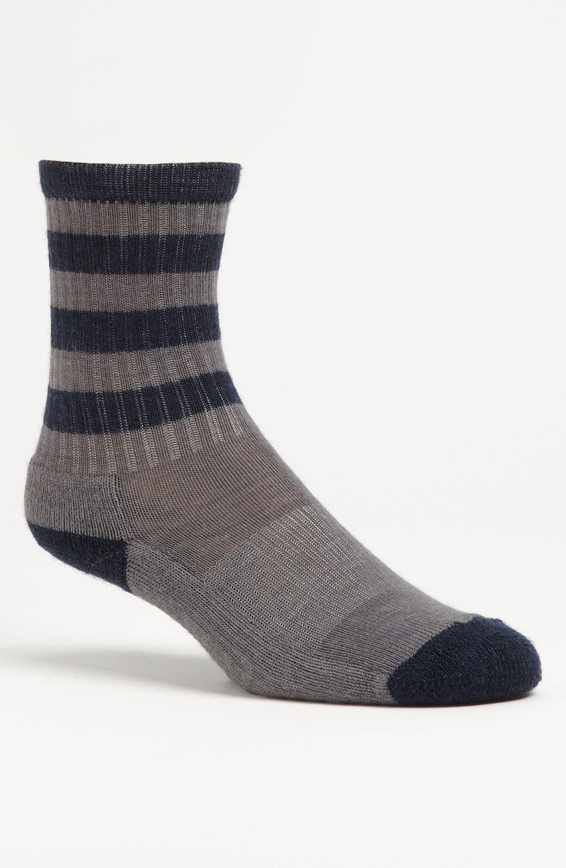 Alternate Image 1 Selected - Smartwool Stripe Hiking Light Socks