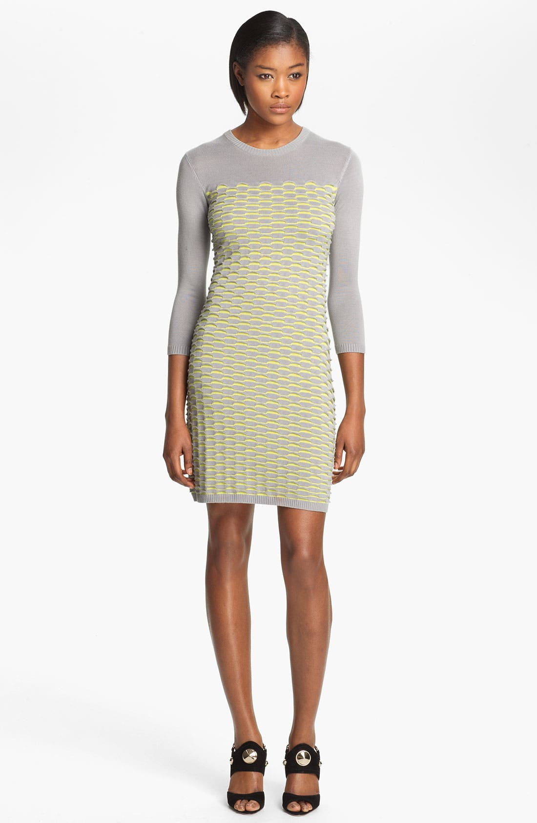Alternate Image 1 Selected - Cut25 Fish Scale Knit Dress