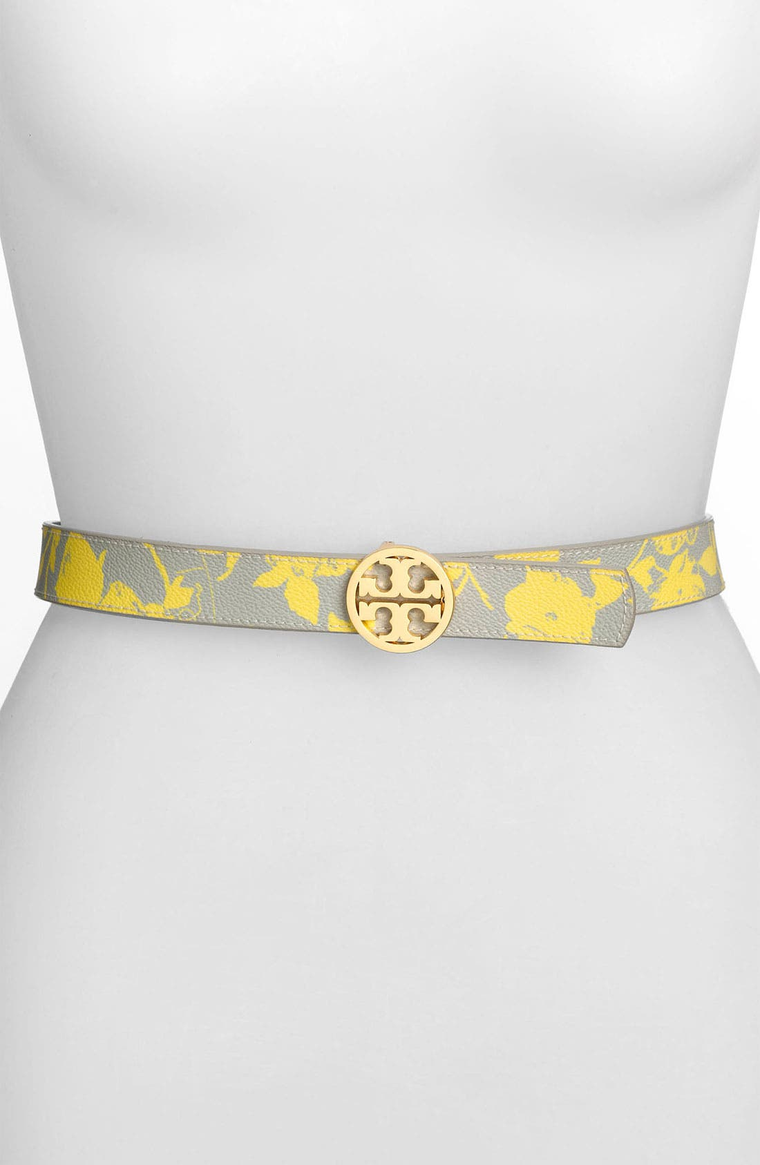 Alternate Image 1 Selected - Tory Burch 'Classic Tory' Reversible Belt
