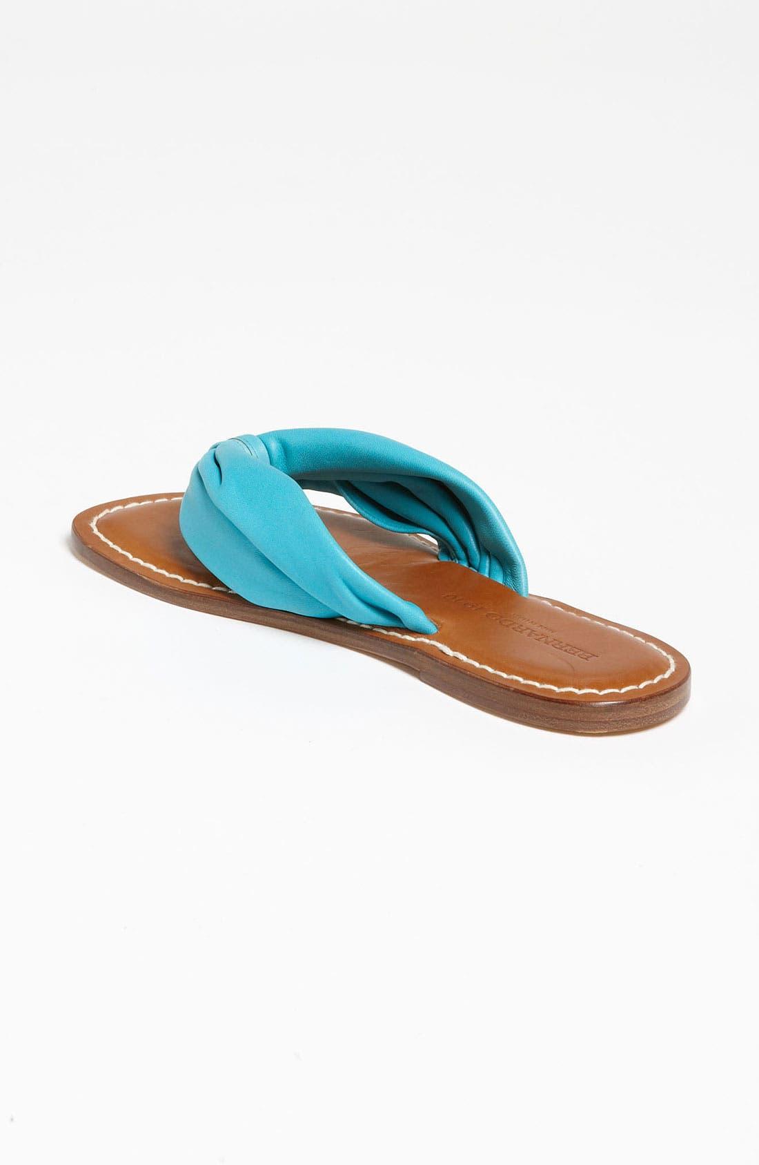 Alternate Image 2  - Bernardo Footwear 1946 Classic Drape Sandal
