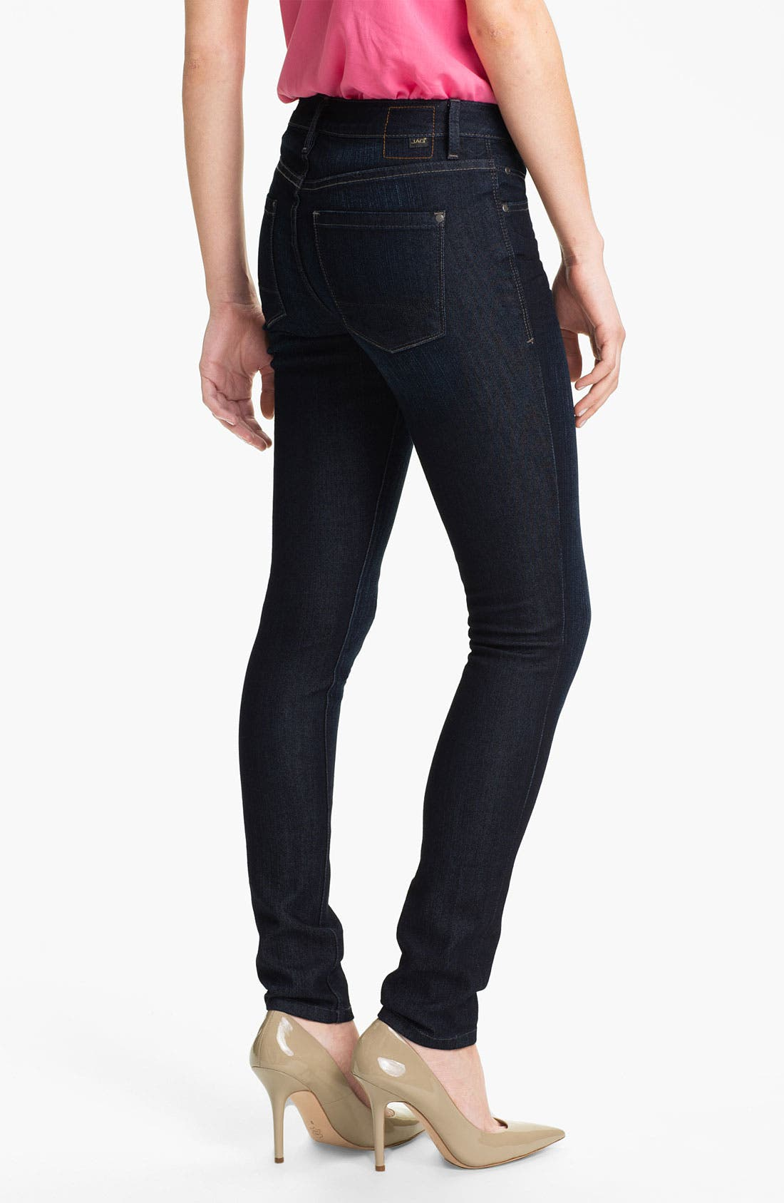 Alternate Image 2  - Jag Jeans 'Reece' Skinny Jeans (Petite)