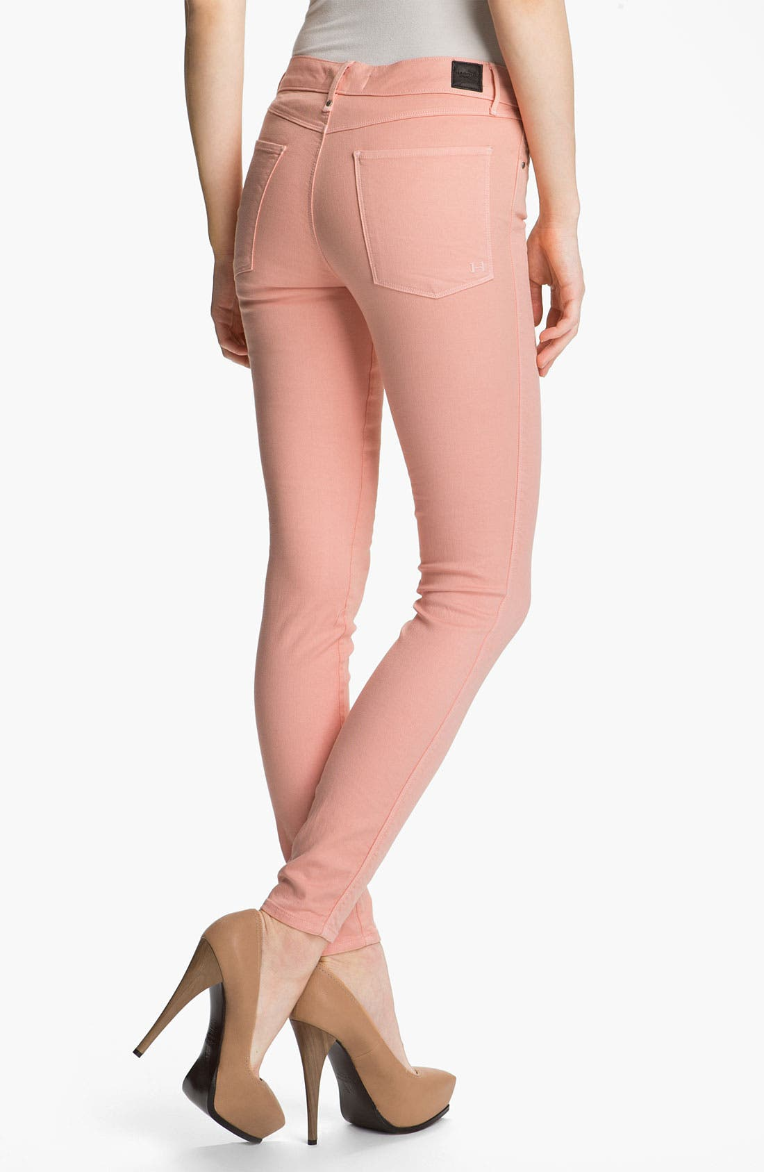 Alternate Image 2  - Habitual 'Grace' High Rise Skinny Stretch Jeans