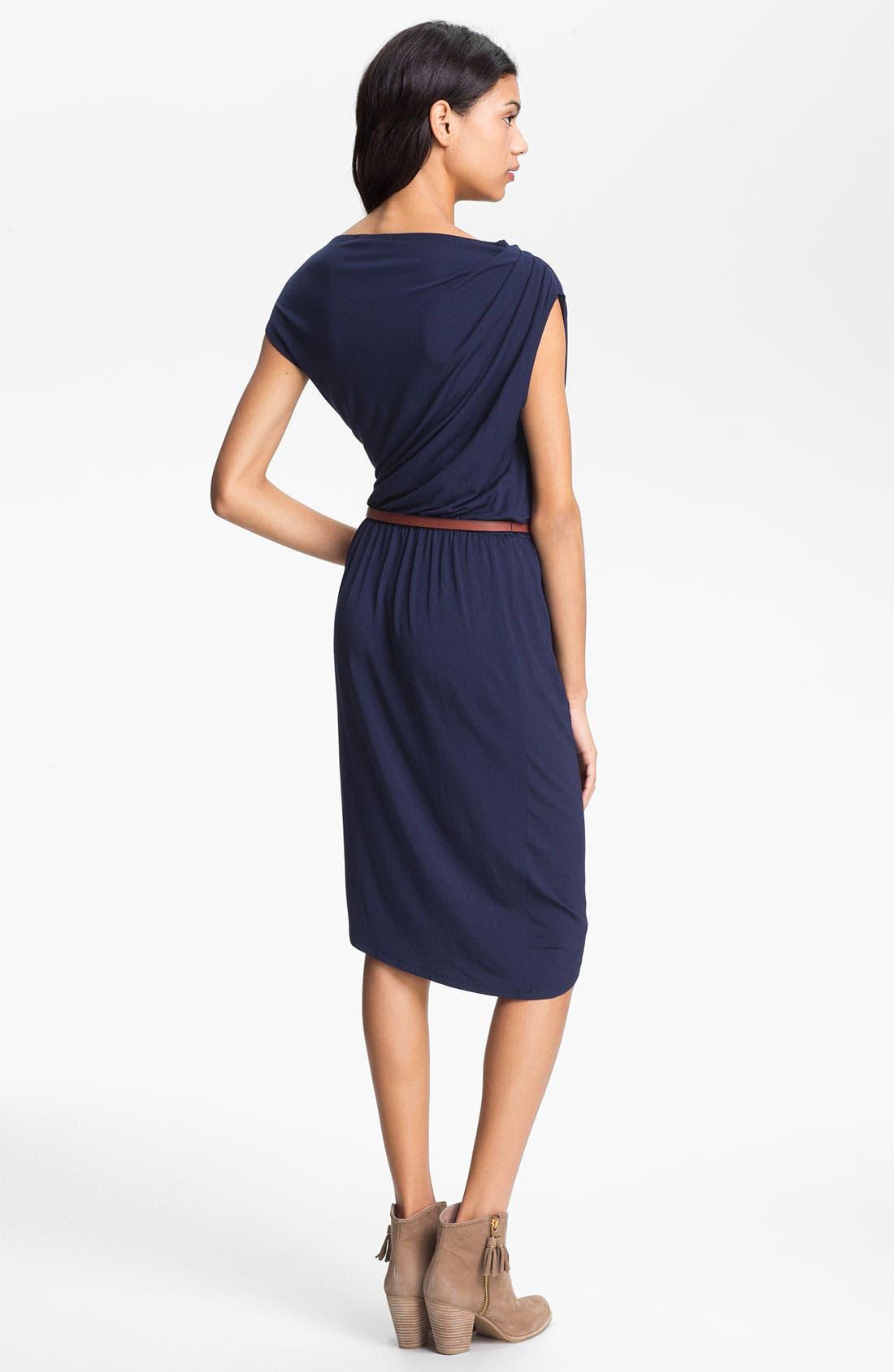 Alternate Image 2  - Tart 'Marine' Draped Jersey Dress