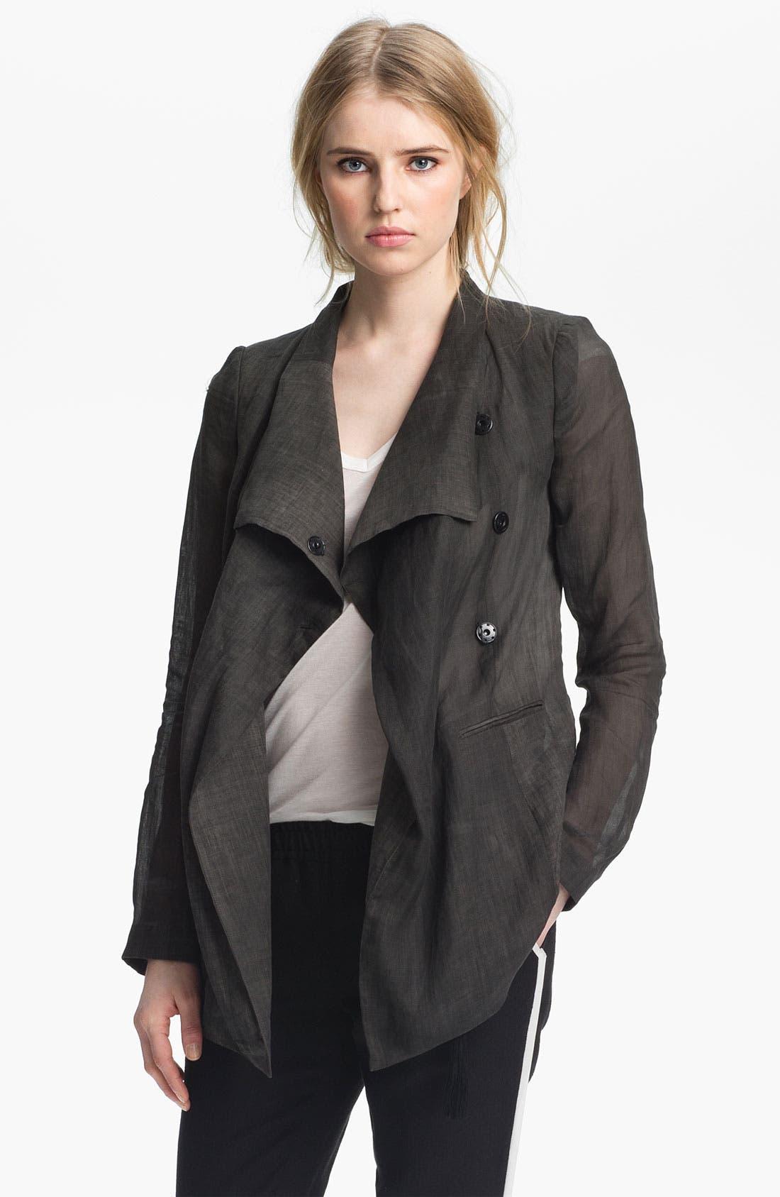 Alternate Image 2  - Elizabeth and James 'Vicky' Sheer Jacket