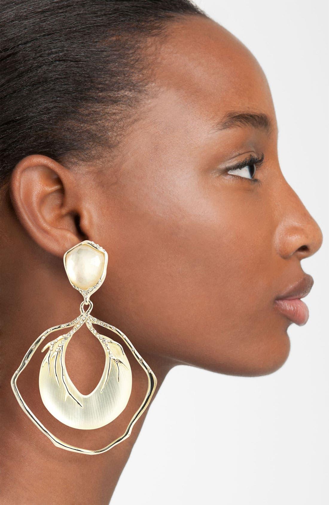 Alternate Image 2  - Alexis Bittar 'Lucite® - Ophelia' Large Vine Clip Drop Earrings