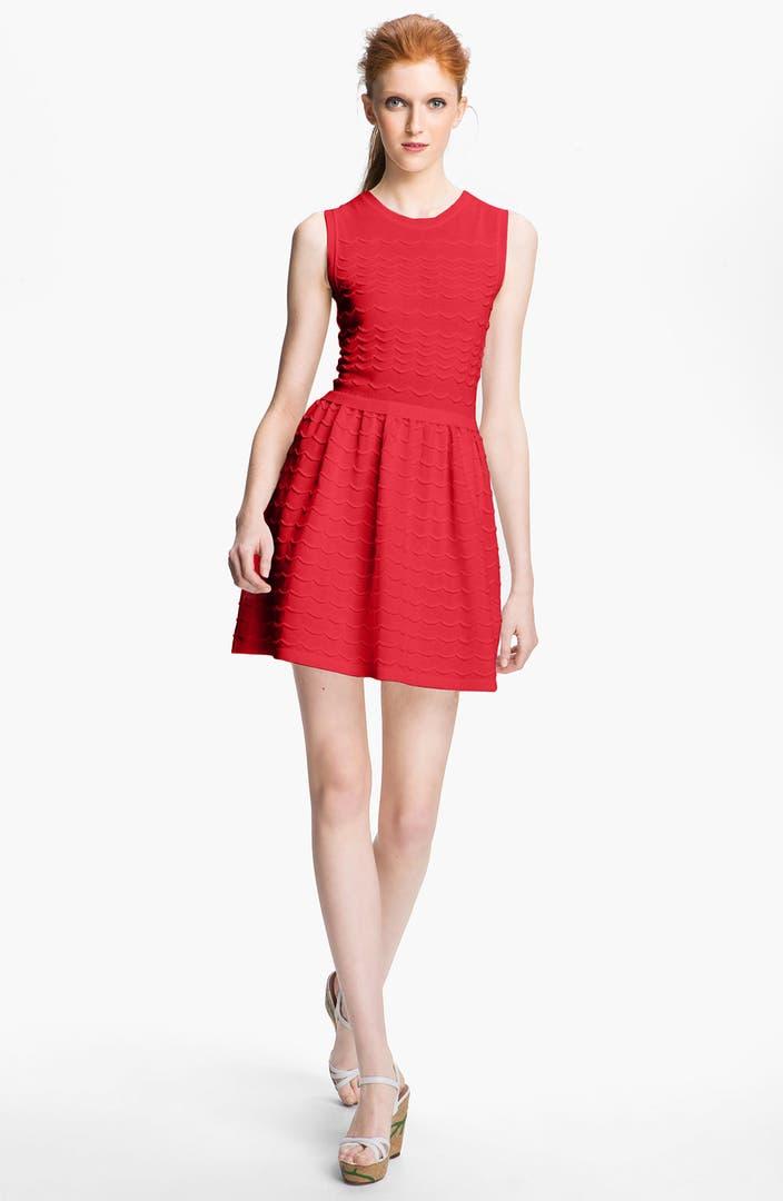 red valentino cotton yarn dress nordstrom. Black Bedroom Furniture Sets. Home Design Ideas