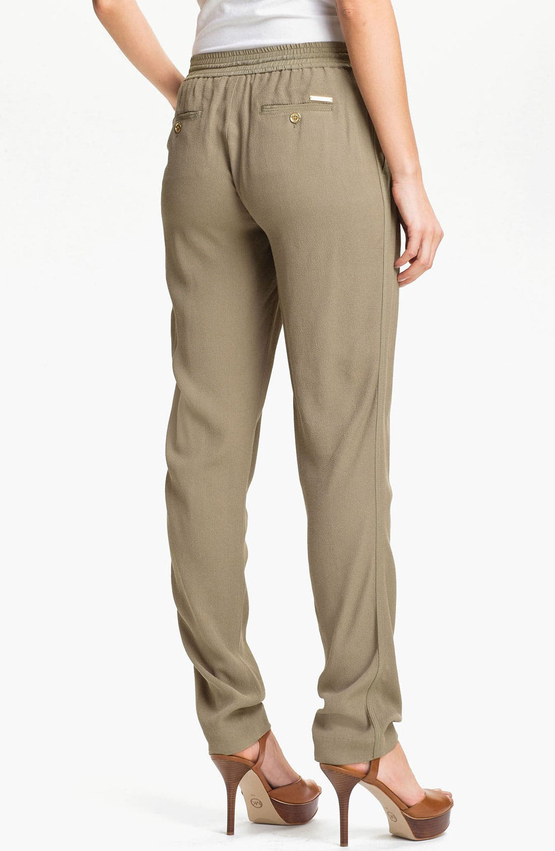 Alternate Image 2  - MICHAEL Michael Kors Drawstring Waist Pants