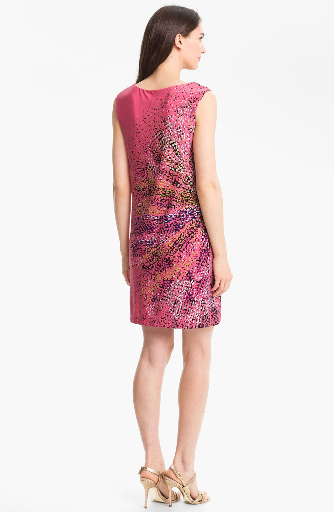 Alternate Image 2  - Maggy London Print Jersey Shift Dress