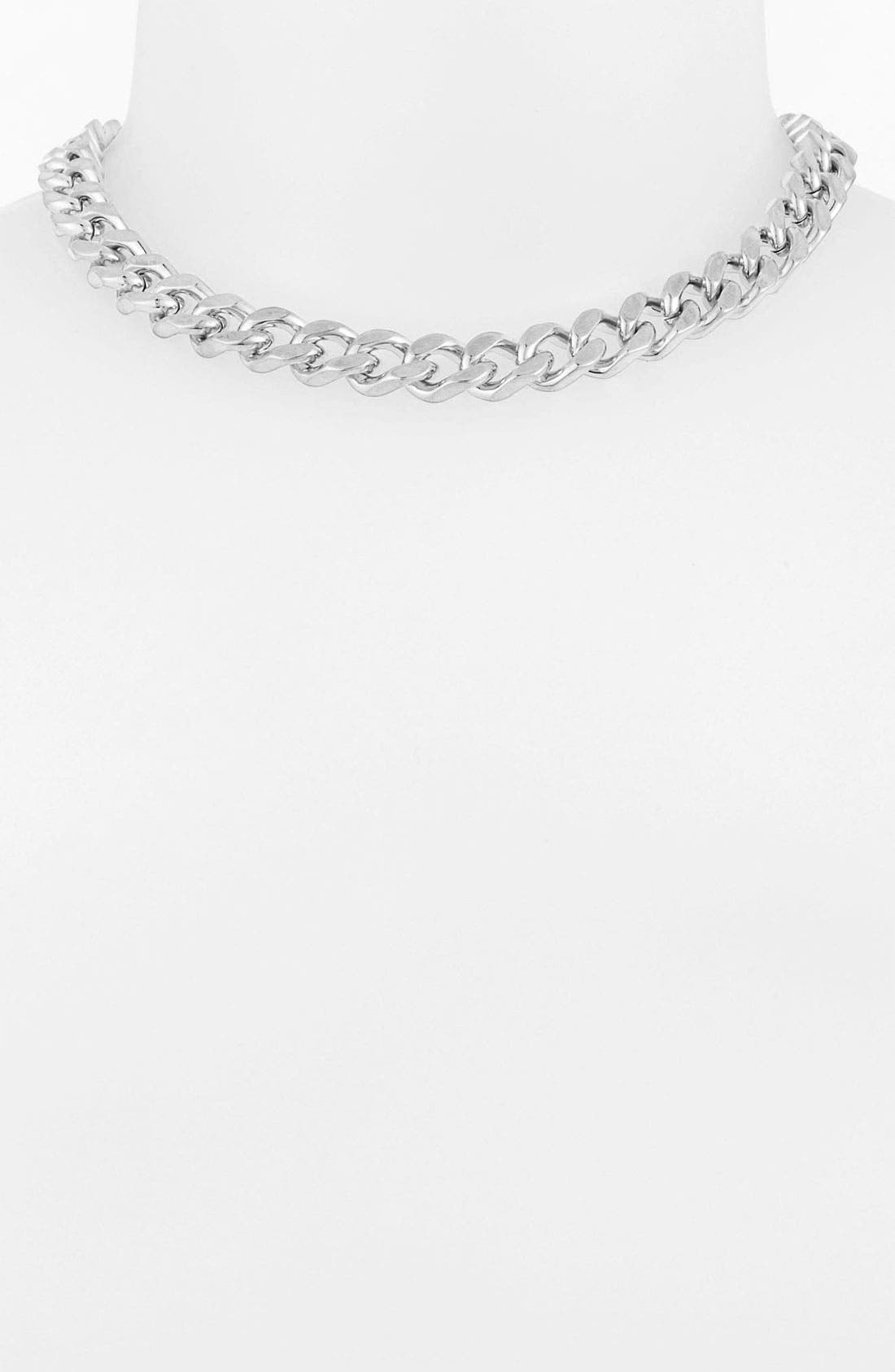 Alternate Image 1 Selected - Vince Camuto Curb Chain Collar Necklace