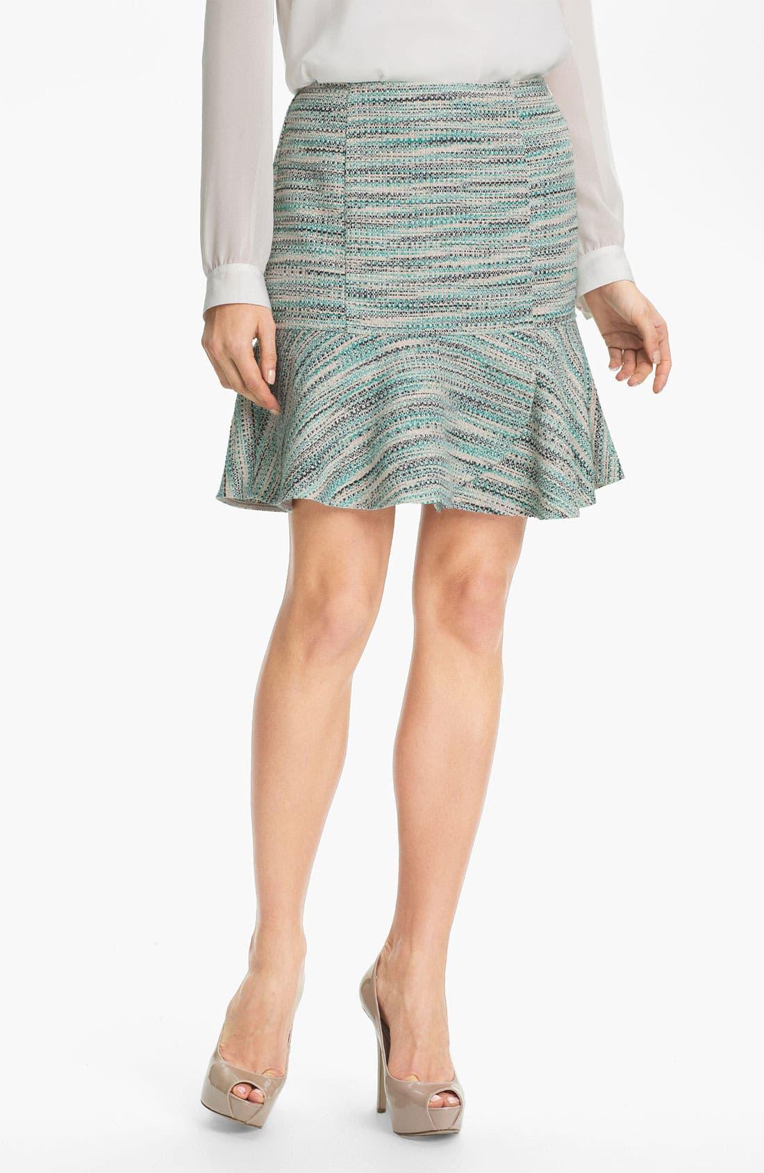 Alternate Image 1 Selected - DKNYC Peplum Hem Skirt