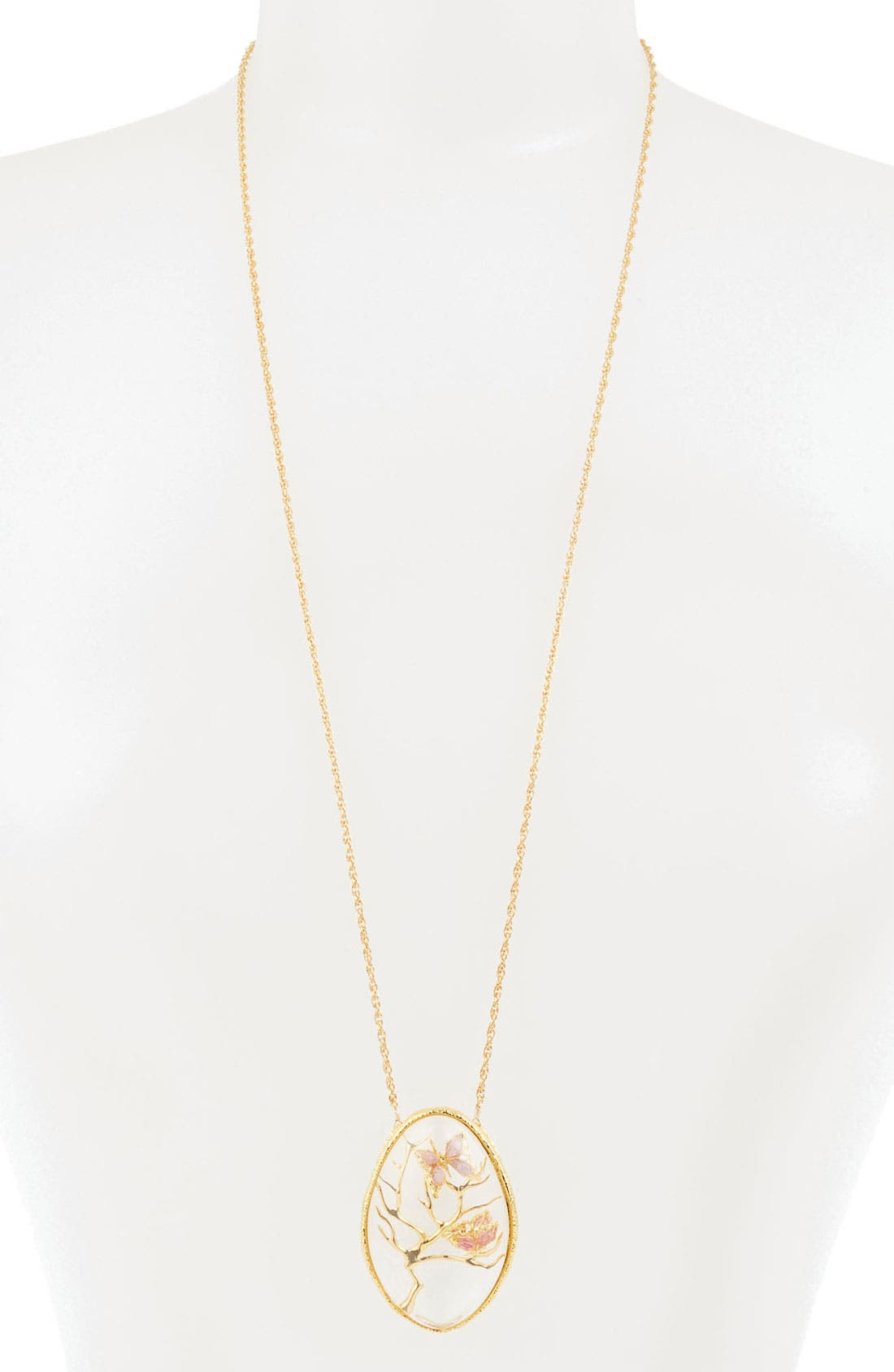 Main Image - Alexis Bittar 'Elements - Floral' Long Pendant Necklace
