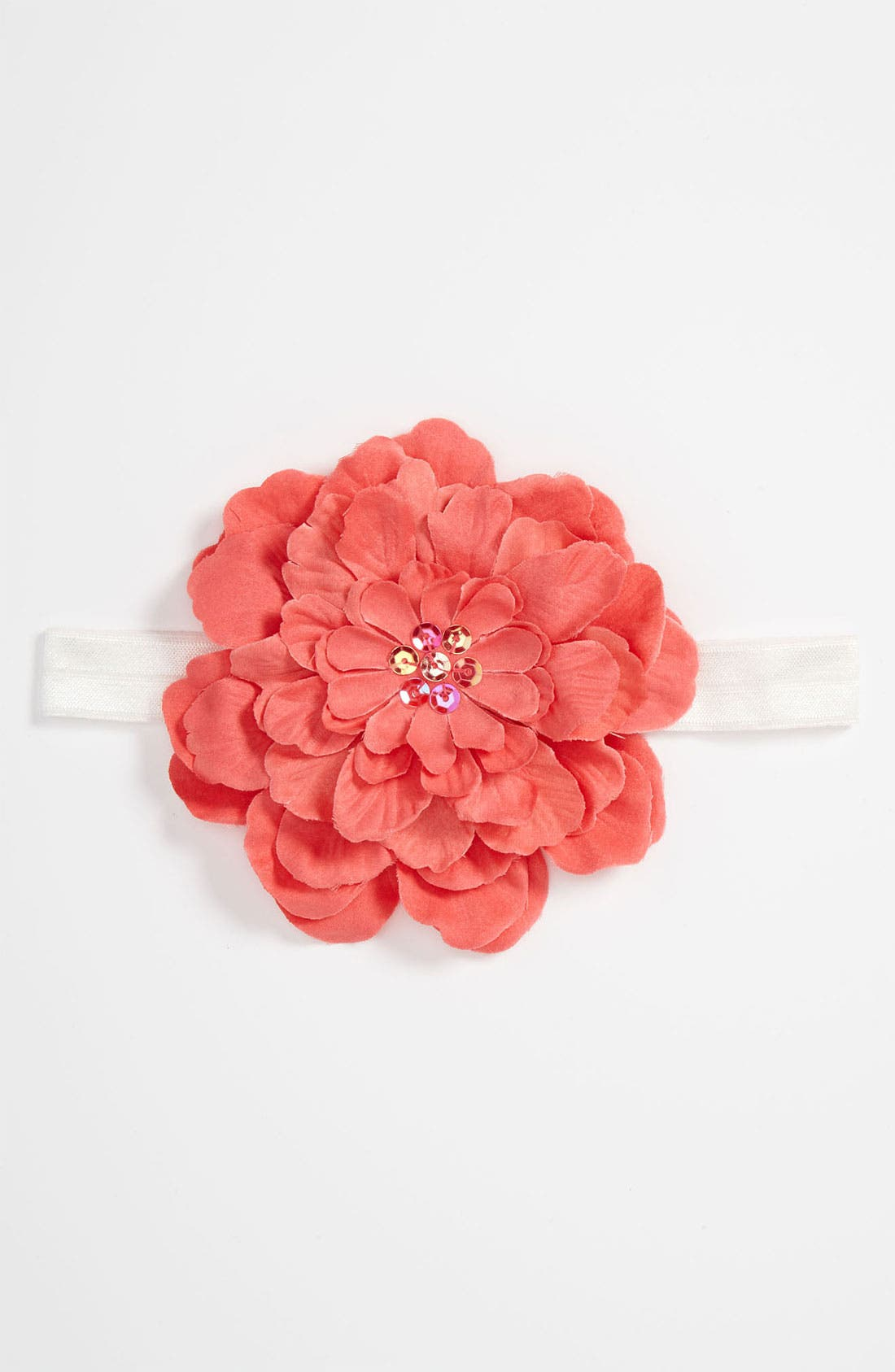 Main Image - PLH Bows & Laces Flower Headband (Baby Girls & Toddler Girls)