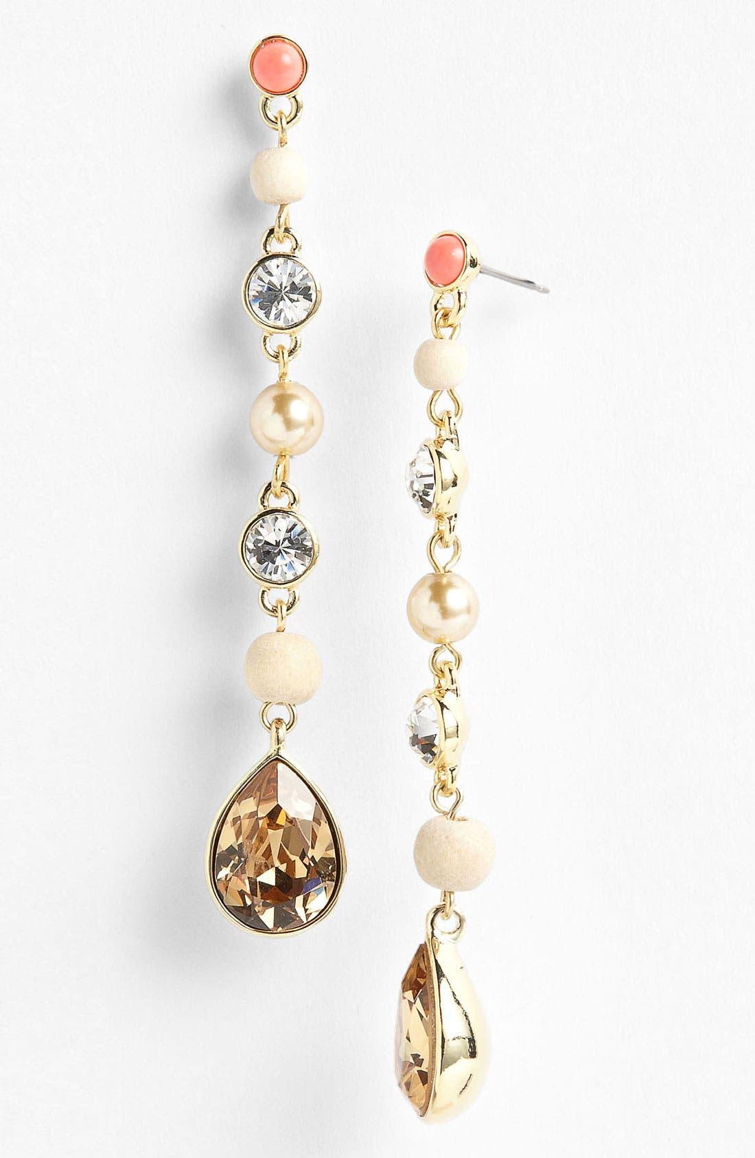 Alternate Image 1 Selected - Givenchy 'Lark' Linear Earrings