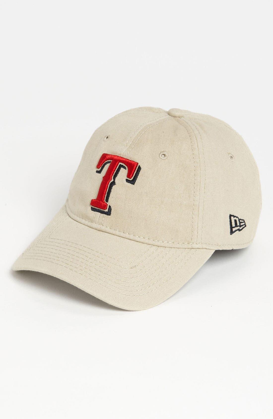 Alternate Image 1 Selected - New Era Cap 'Shoreline - Texas Rangers' Baseball Cap