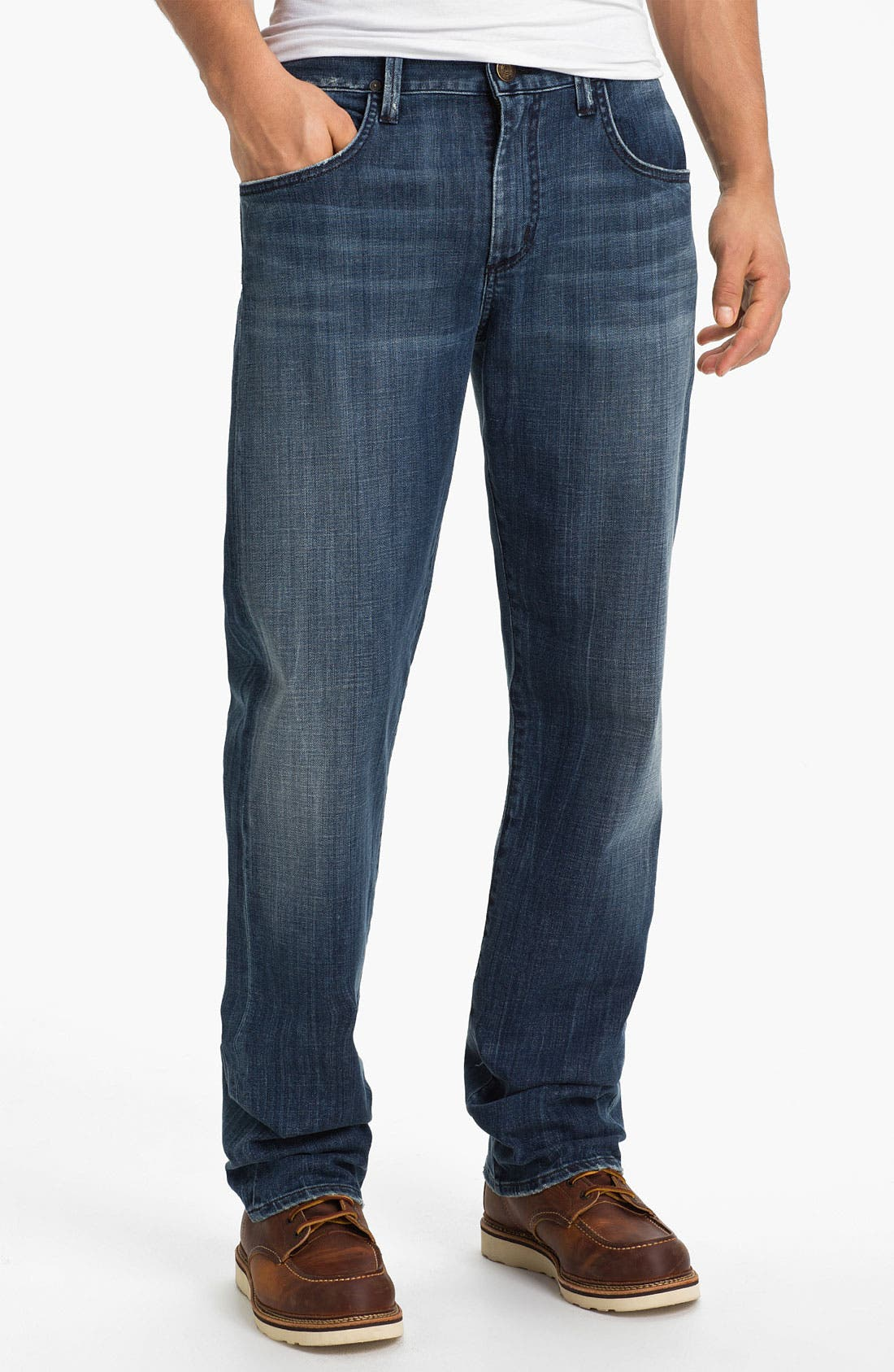Alternate Image 1 Selected - Citizens of Humanity 'Perfect' Relaxed Leg Jeans (Sterling)