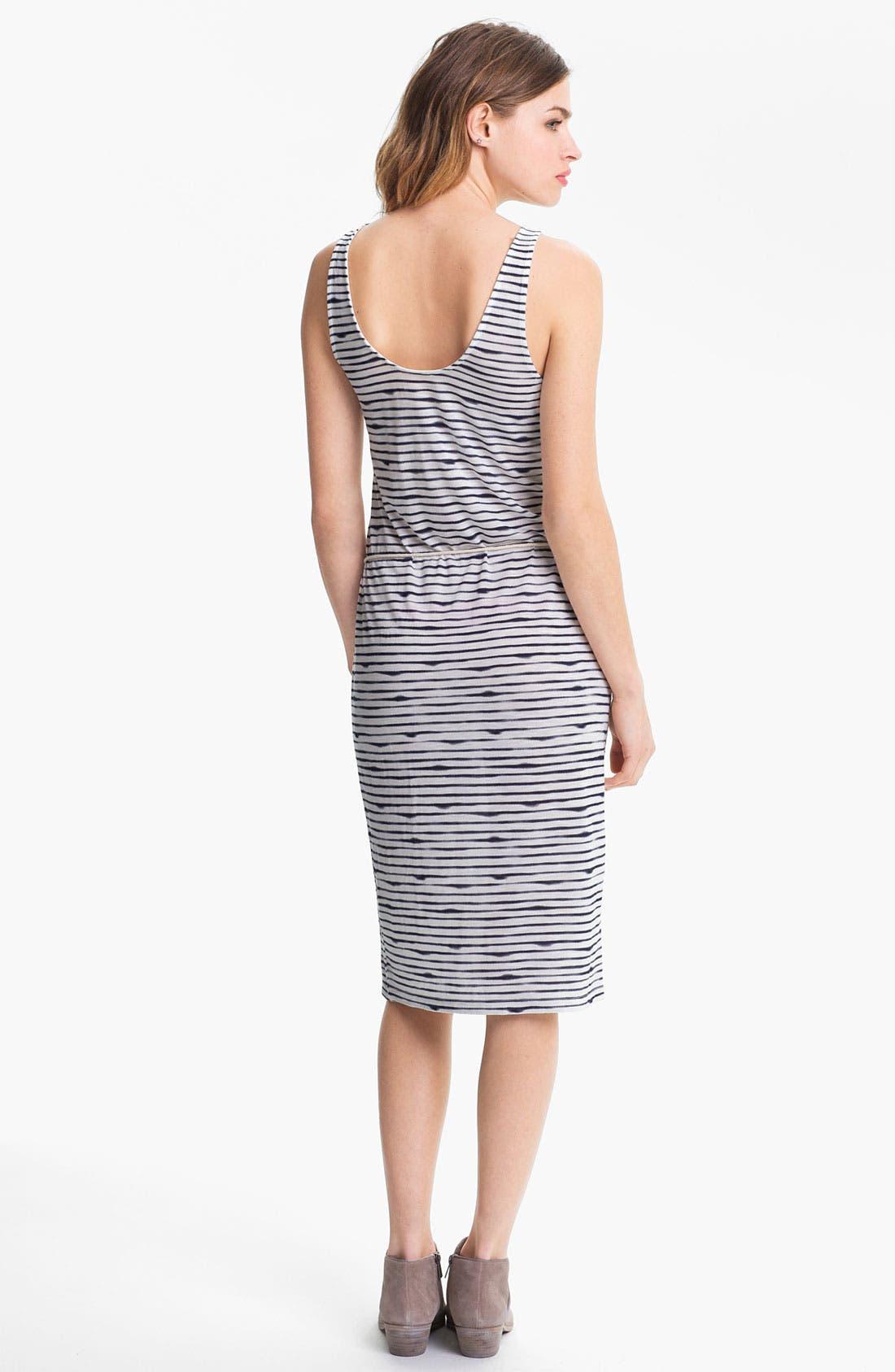 Alternate Image 2  - Soft Joie 'Mimi' Slub Stripe Midi Tank Dress