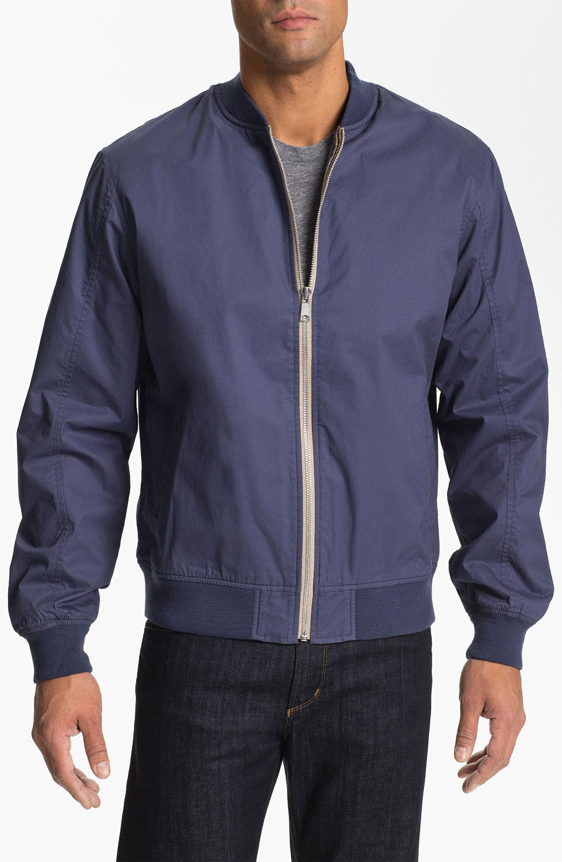 Main Image - Cutter & Buck 'Edmonds Washed' Cotton Jacket (Big & Tall) (Online Only)