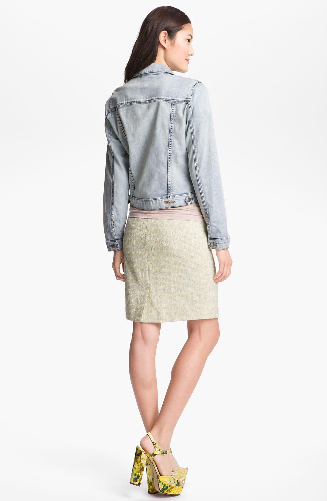 Alternate Image 4  - Halogen® Tweed Pencil Skirt