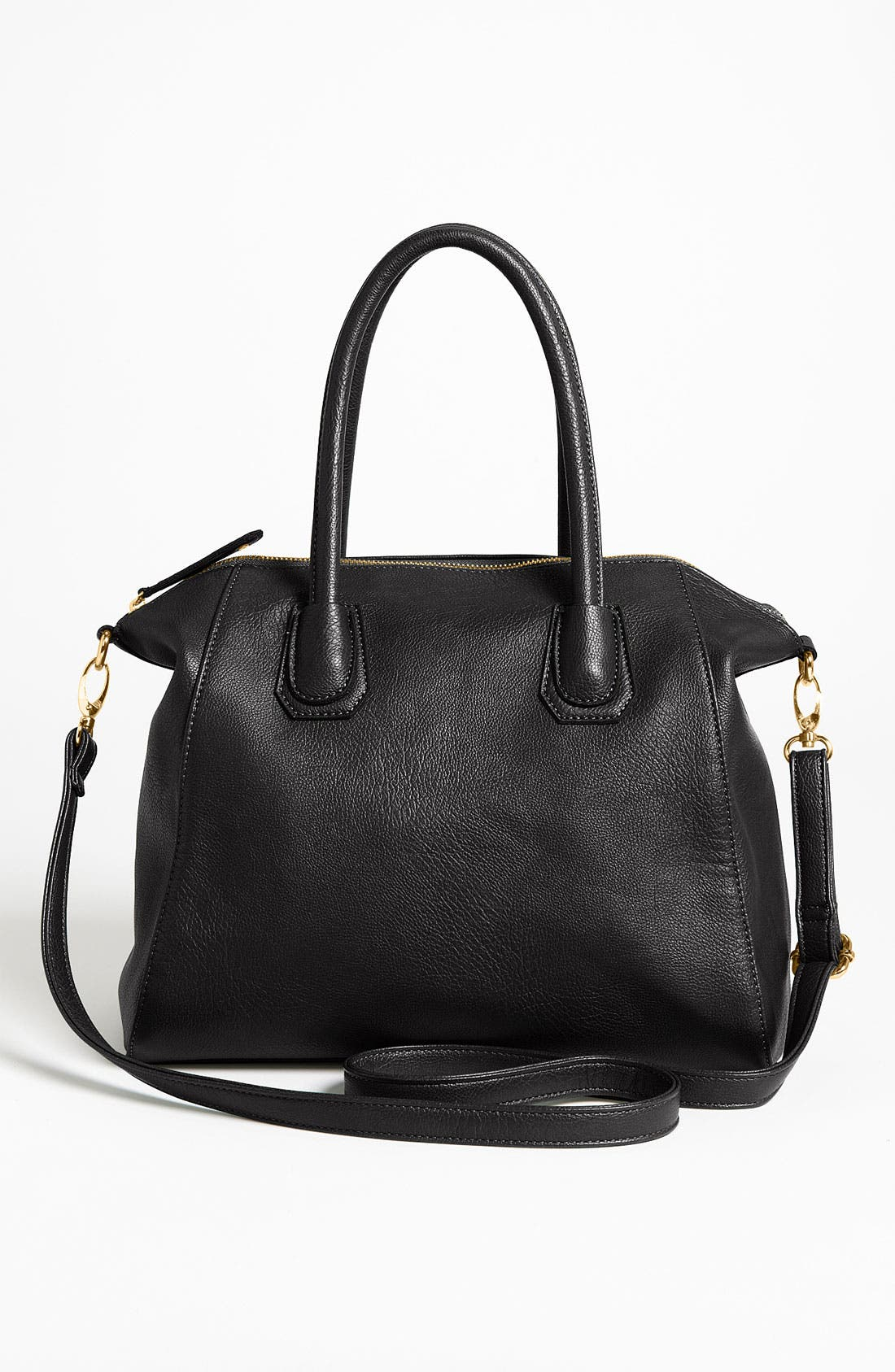 Main Image - Street Level Faux Leather Satchel