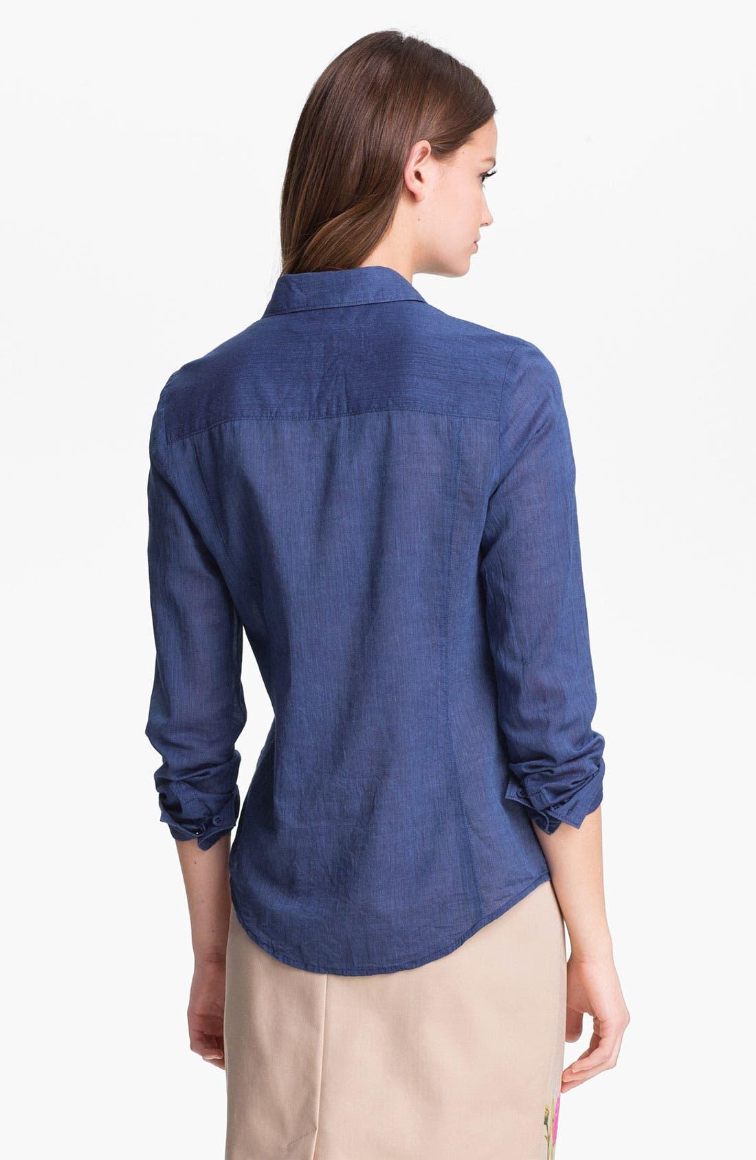 Alternate Image 2  - Caslon® Long Sleeve Shirt