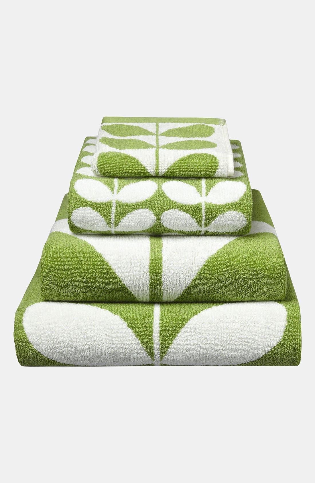 Alternate Image 1 Selected - Orla Kiely 'Stem Jacquard' Bath Towel