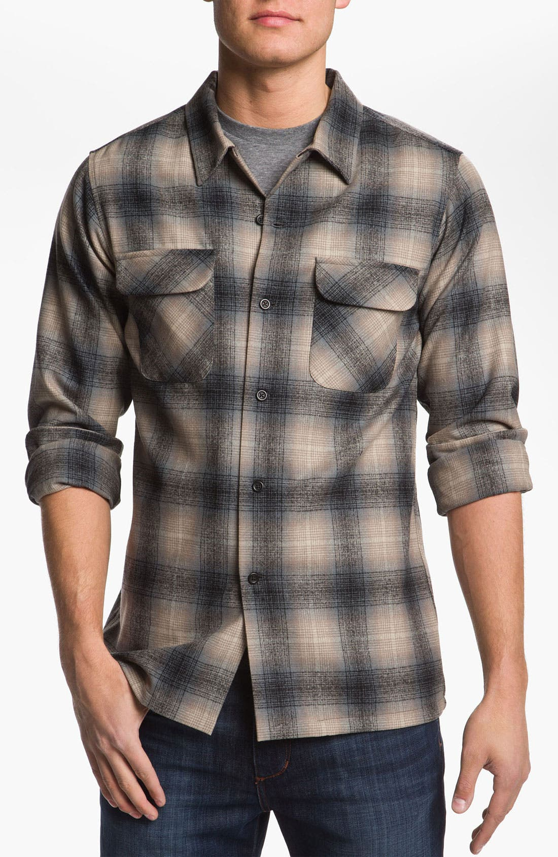 Alternate Image 1 Selected - Pendleton Fitted Wool Shirt