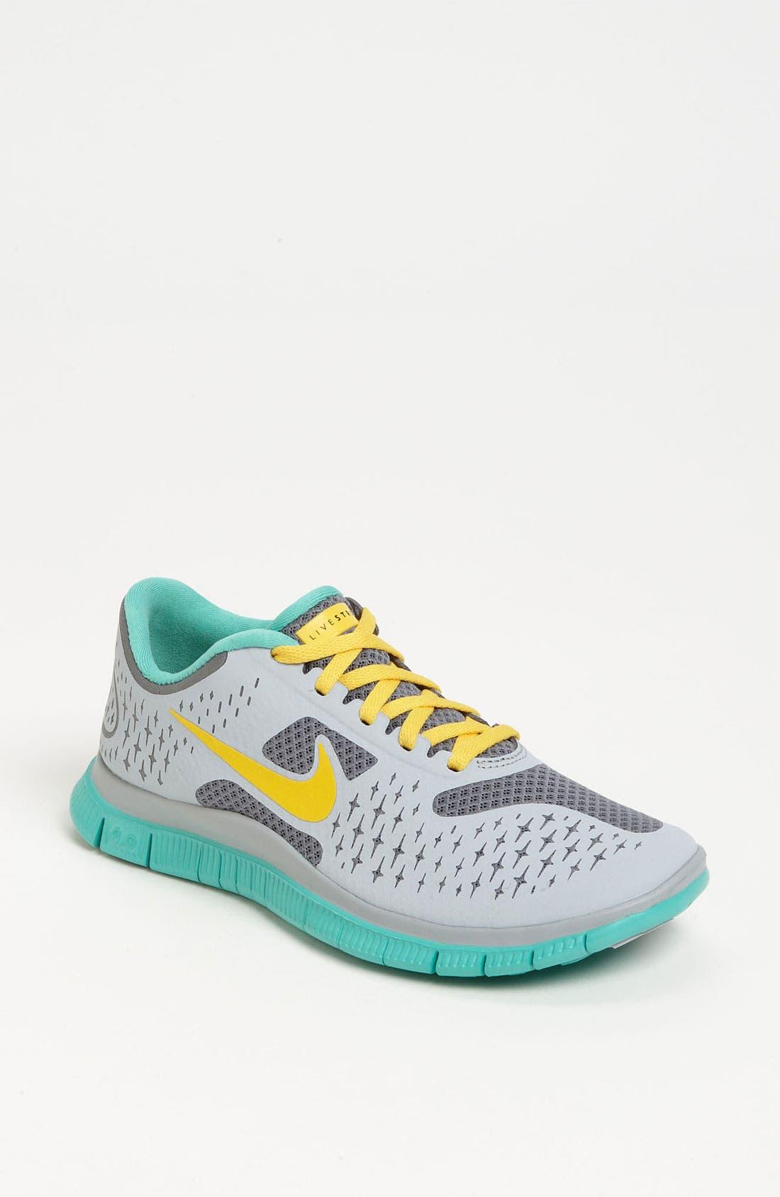 Alternate Image 1 Selected - Nike 'Free 4.0 V2 Livestrong' Running Shoe (Women)