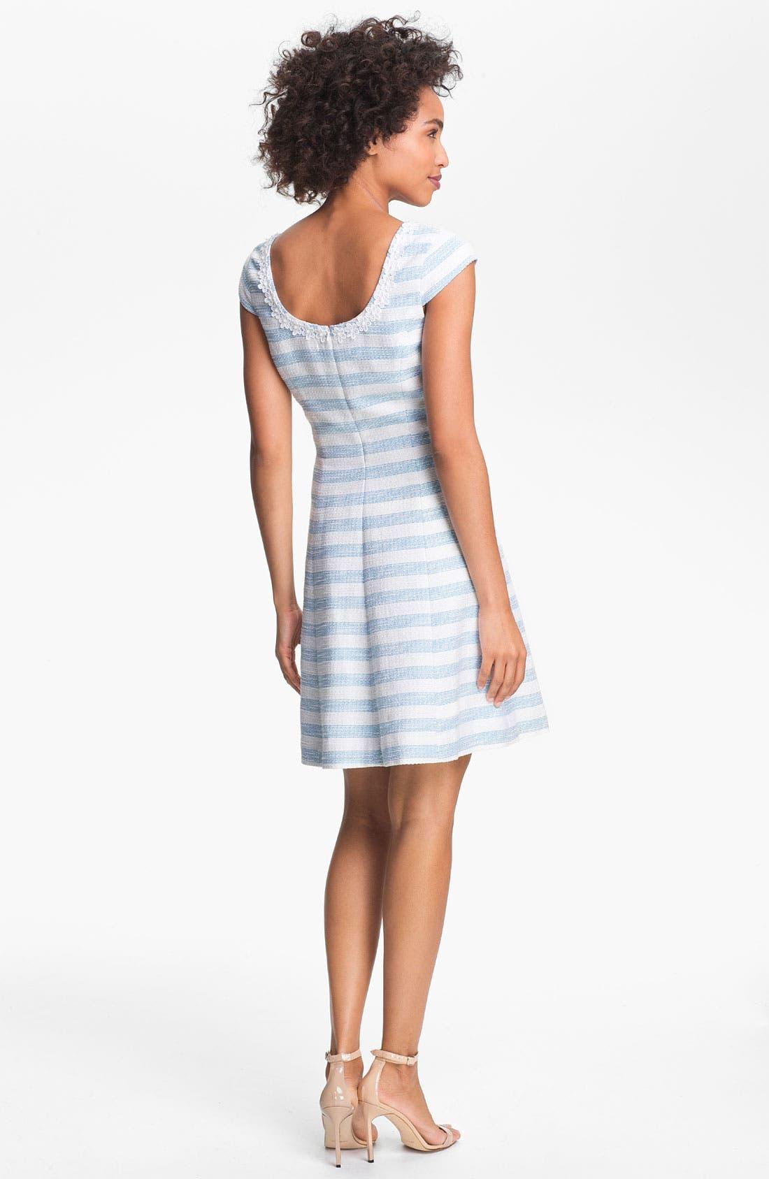Alternate Image 2  - Lilly Pulitzer® 'Rylan' Textured Stripe A-Line Dress