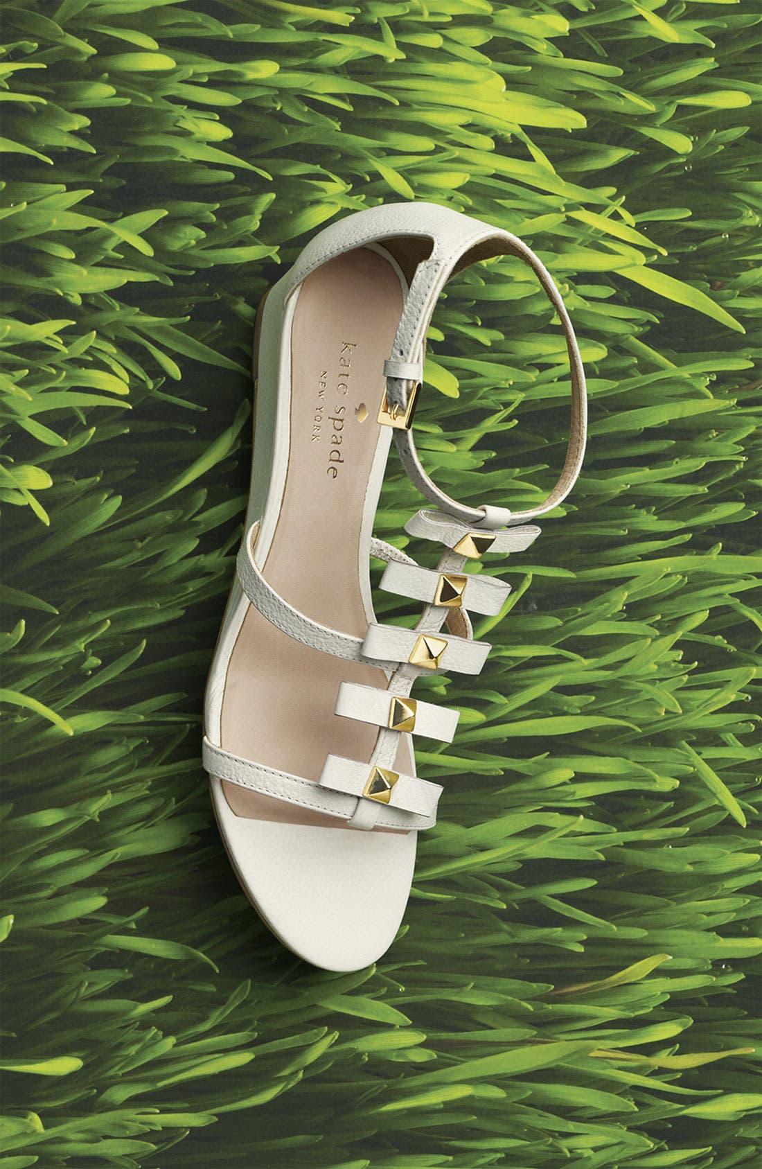 'vilina' sandal,                             Alternate thumbnail 5, color,