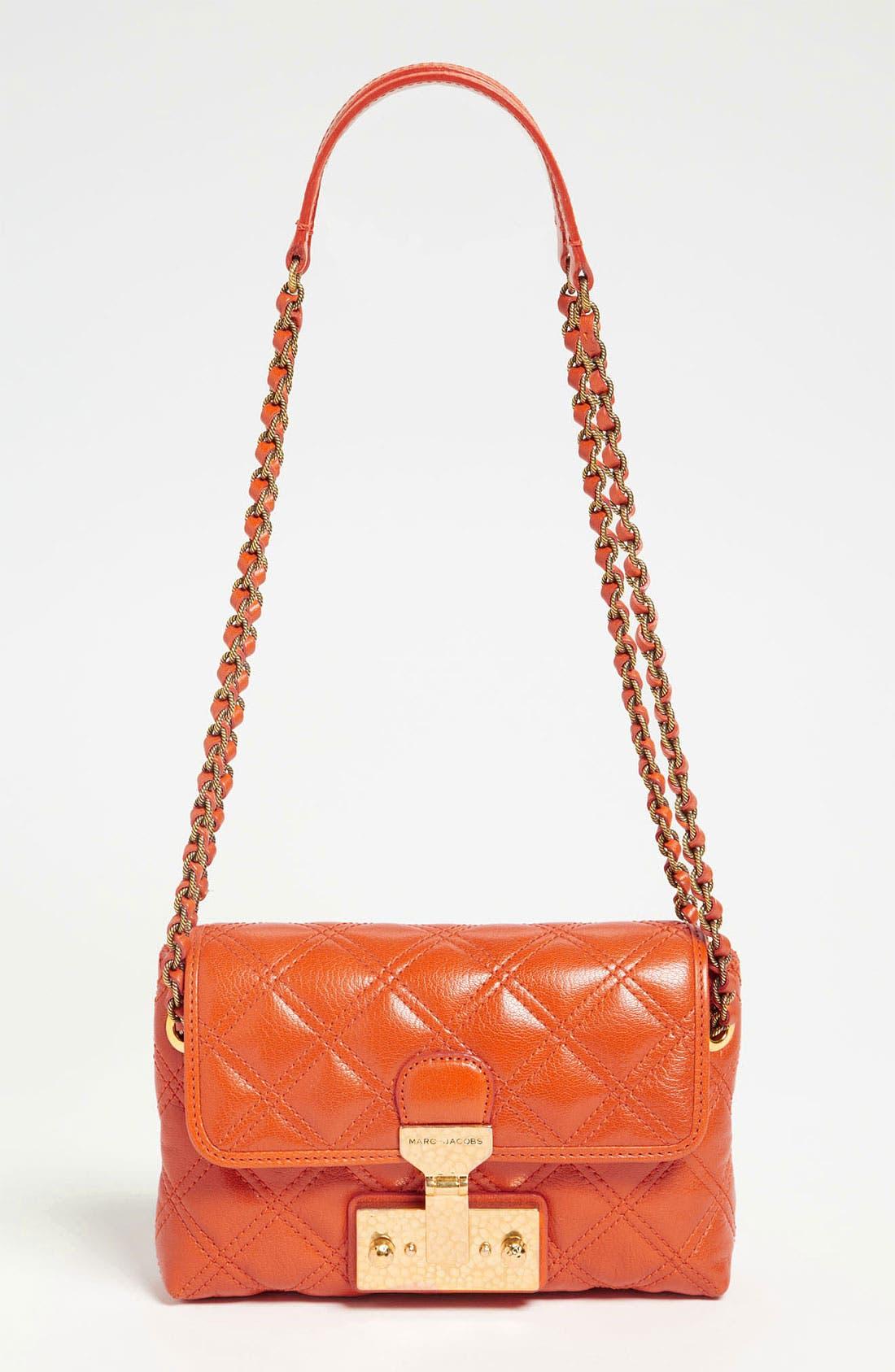 Main Image - MARC JACOBS 'Baroque - Single' Leather Shoulder Bag