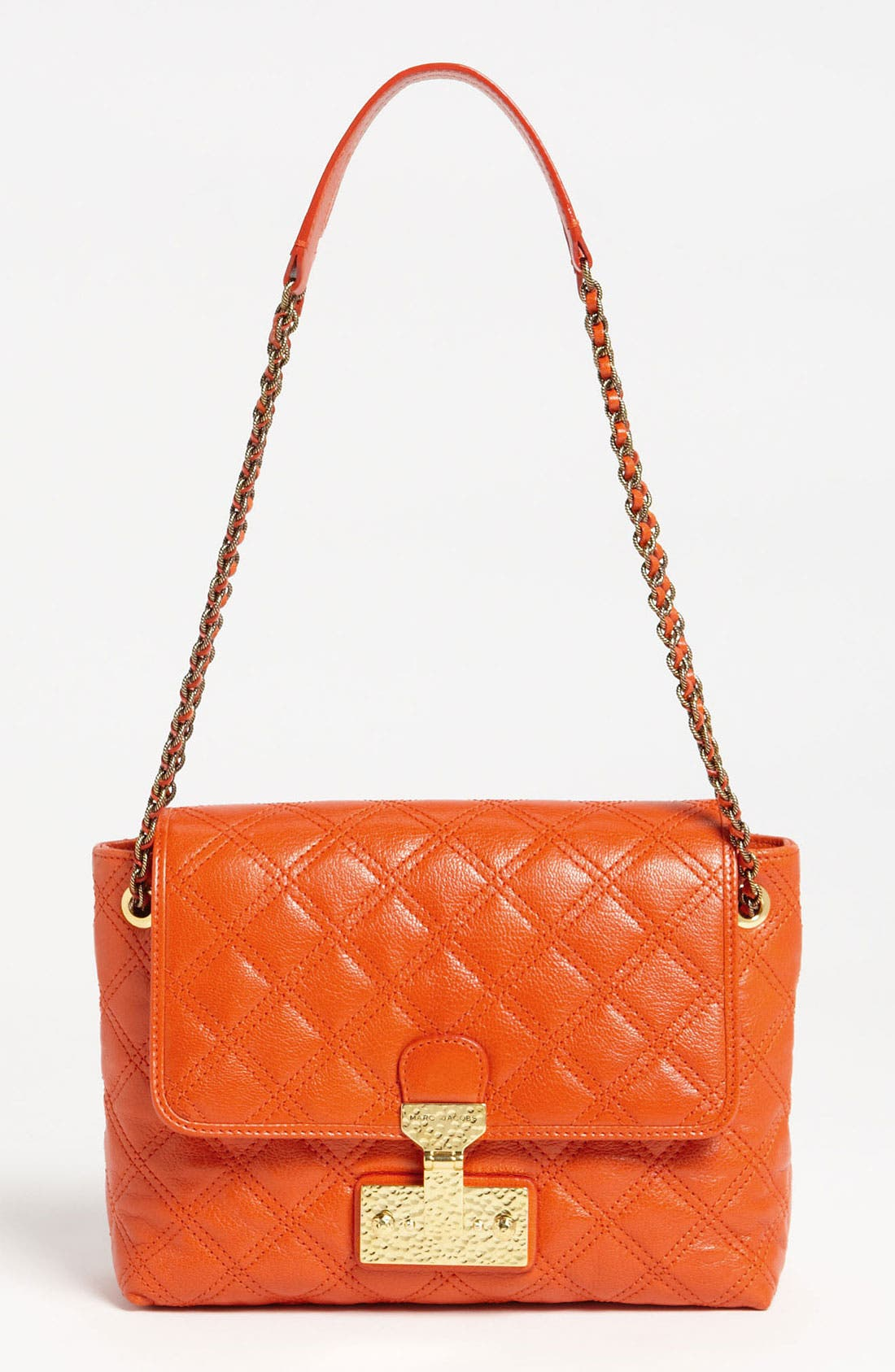 Main Image - MARC JACOBS 'Large Baroque Single' Leather Shoulder Bag