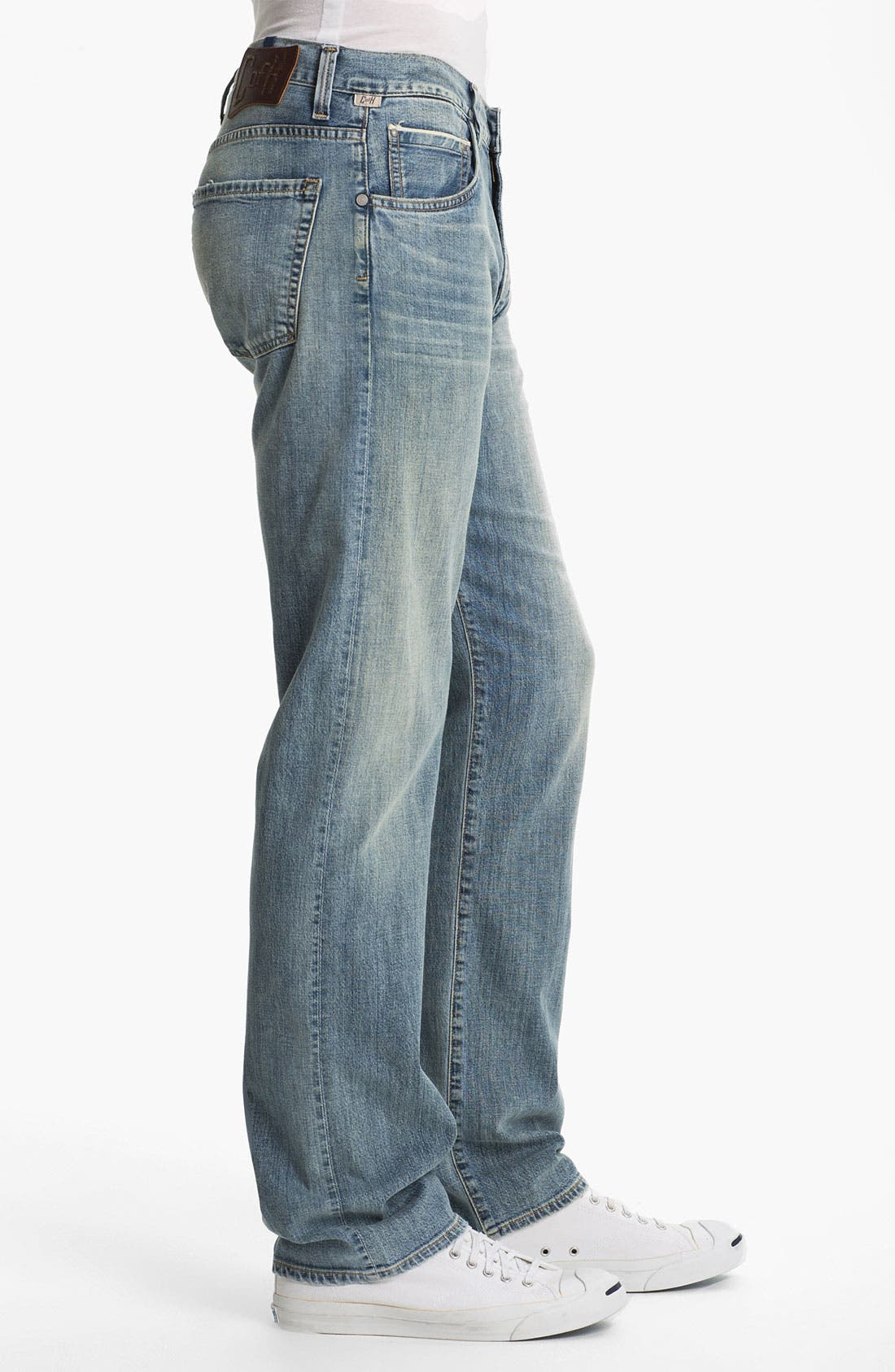Alternate Image 3  - Citizens of Humanity 'Sid Selvage' Straight Leg Jeans (Lukas Wash)