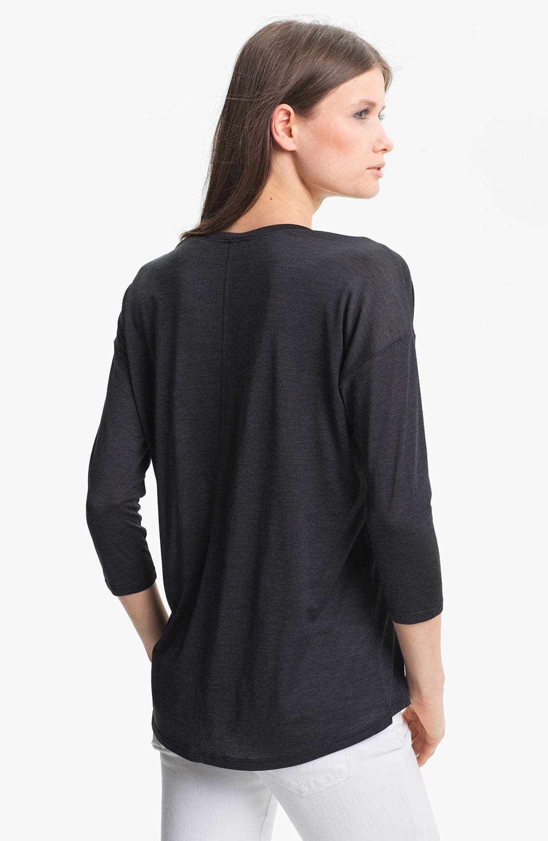 Alternate Image 2  - Eileen Fisher Silk Blend Top