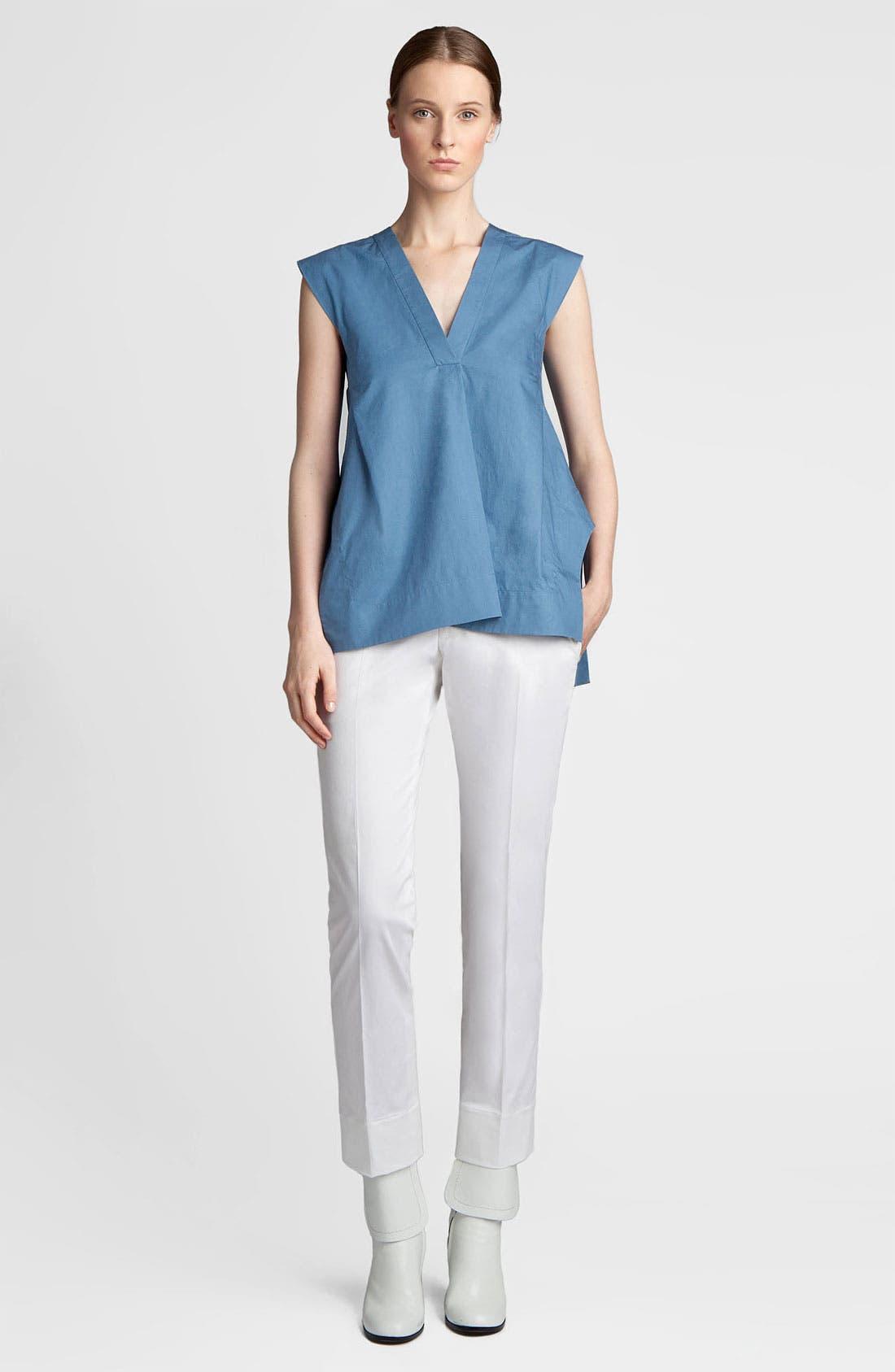 Alternate Image 1 Selected - Jil Sander Washed Cotton Tunic