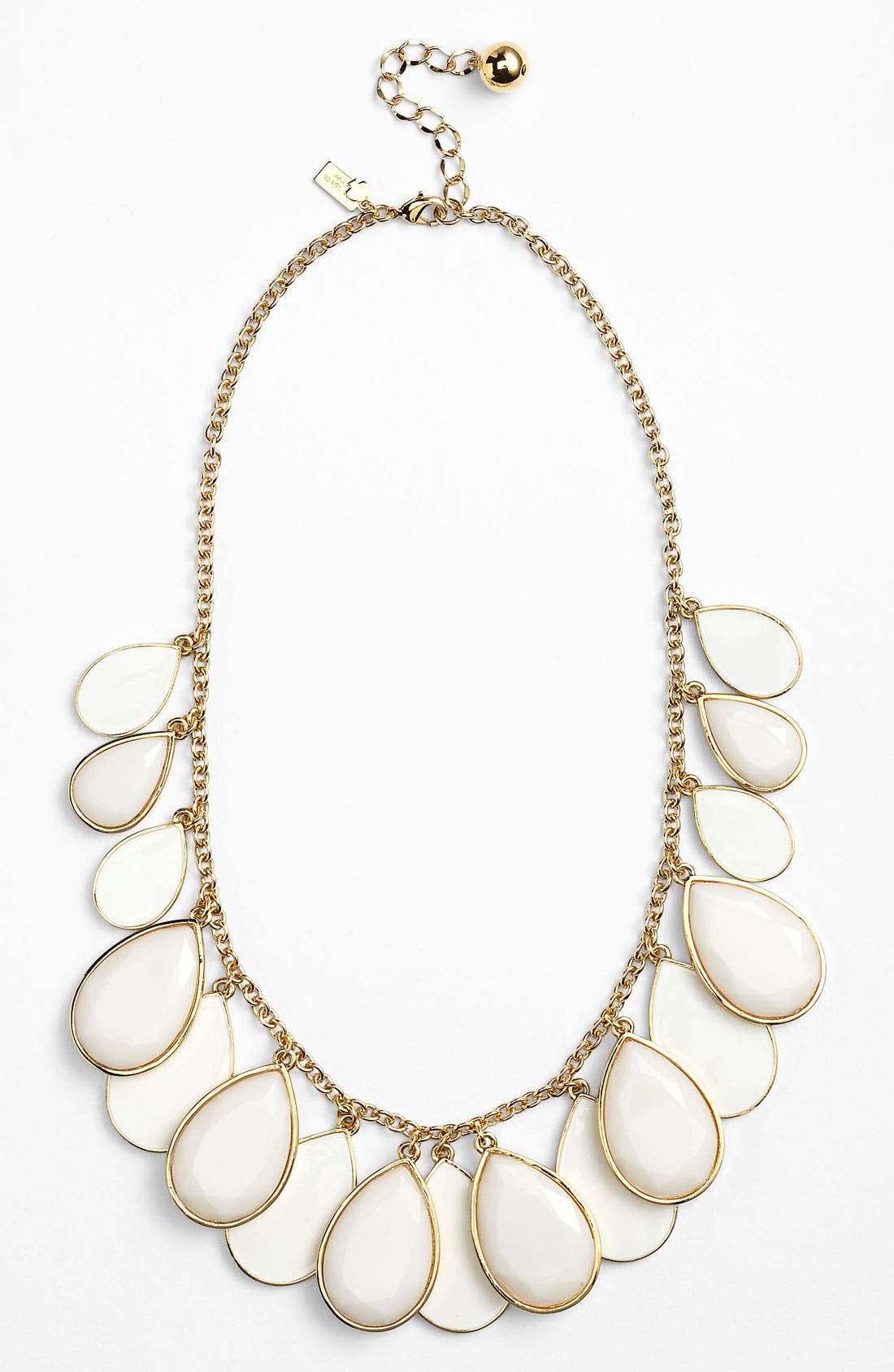 Main Image - kate spade new york 'petal pusher' bib necklace