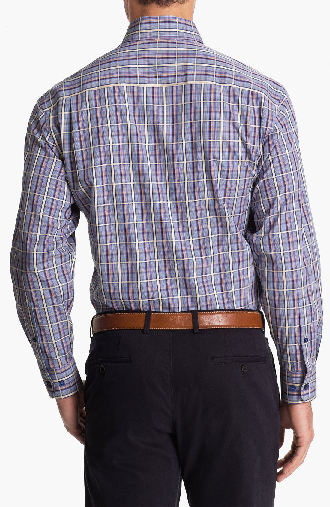 Alternate Image 2  - Robert Talbott Regular Fit Sport Shirt